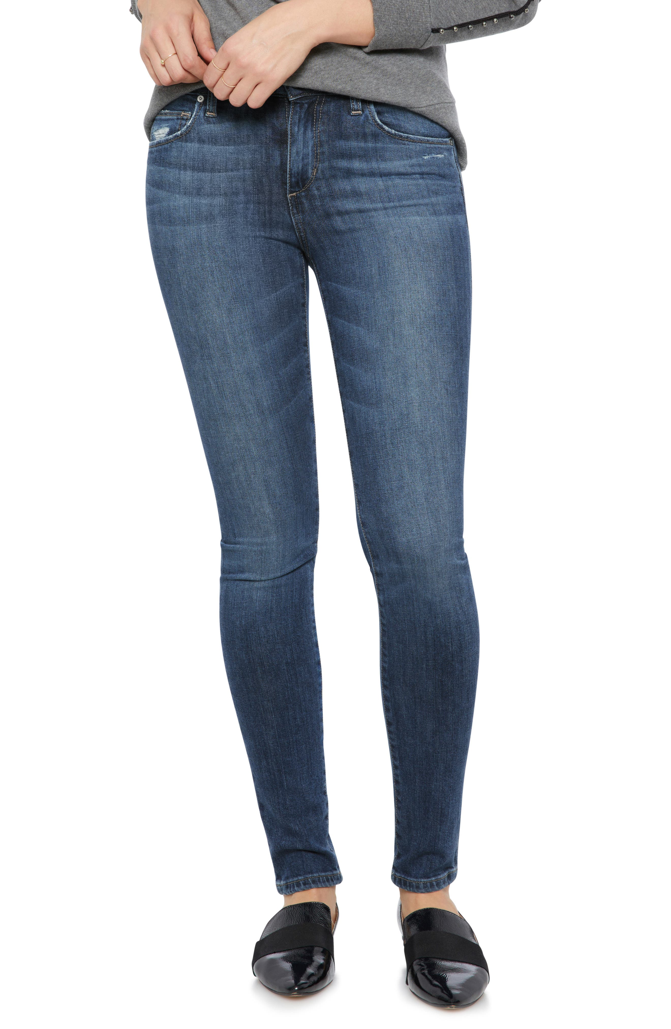 Icon Skinny Jeans, Main, color, 421