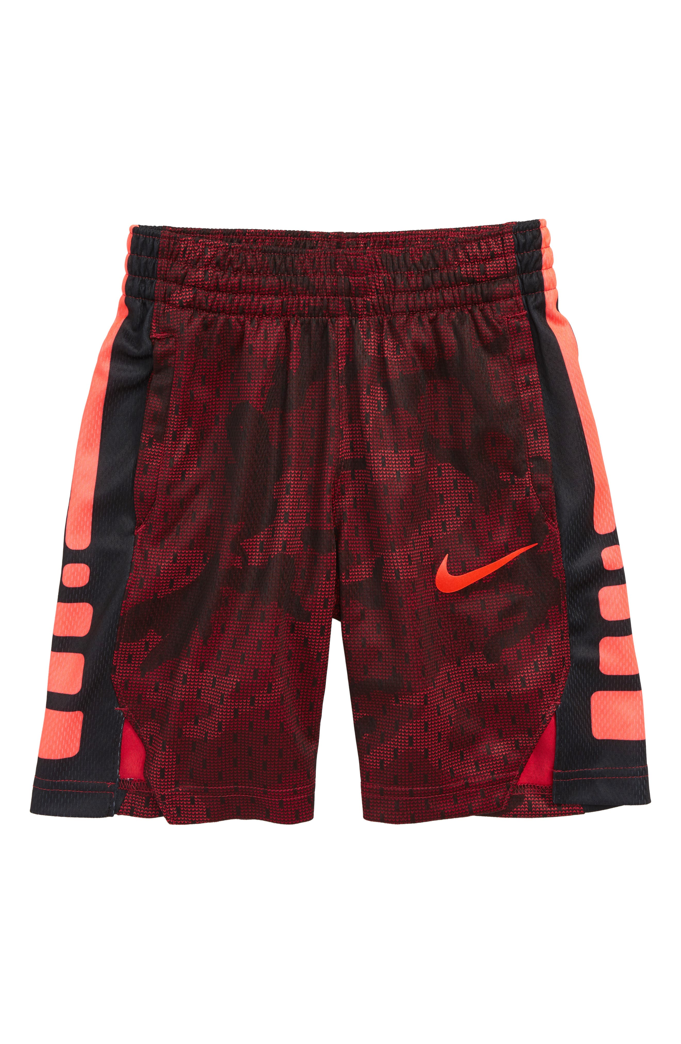 Dry Elite Basketball Shorts, Main, color, RED CRUSH/ BRIGHT CRIMSON