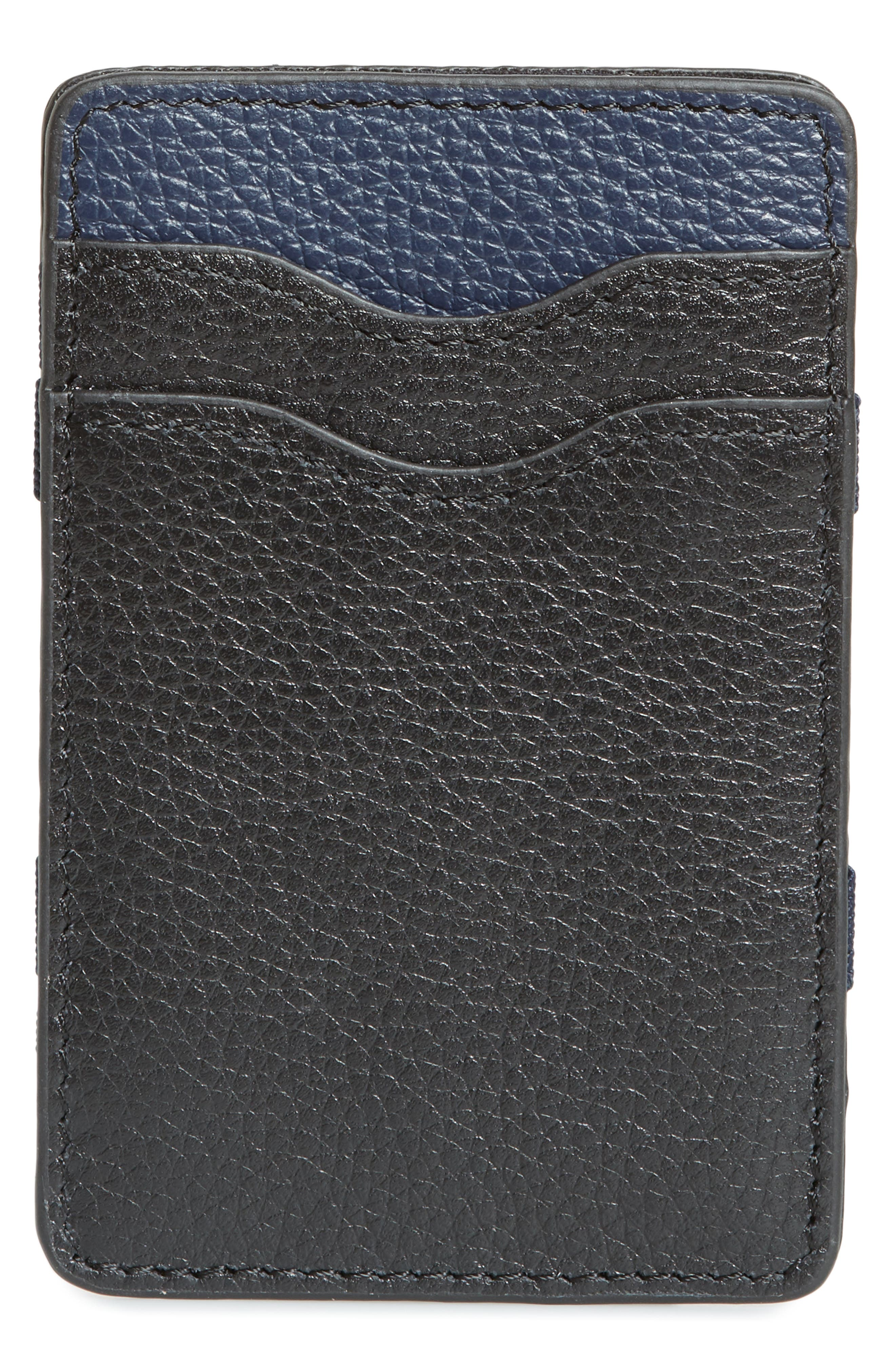Jamie Magic Wallet,                             Alternate thumbnail 3, color,                             BLACK