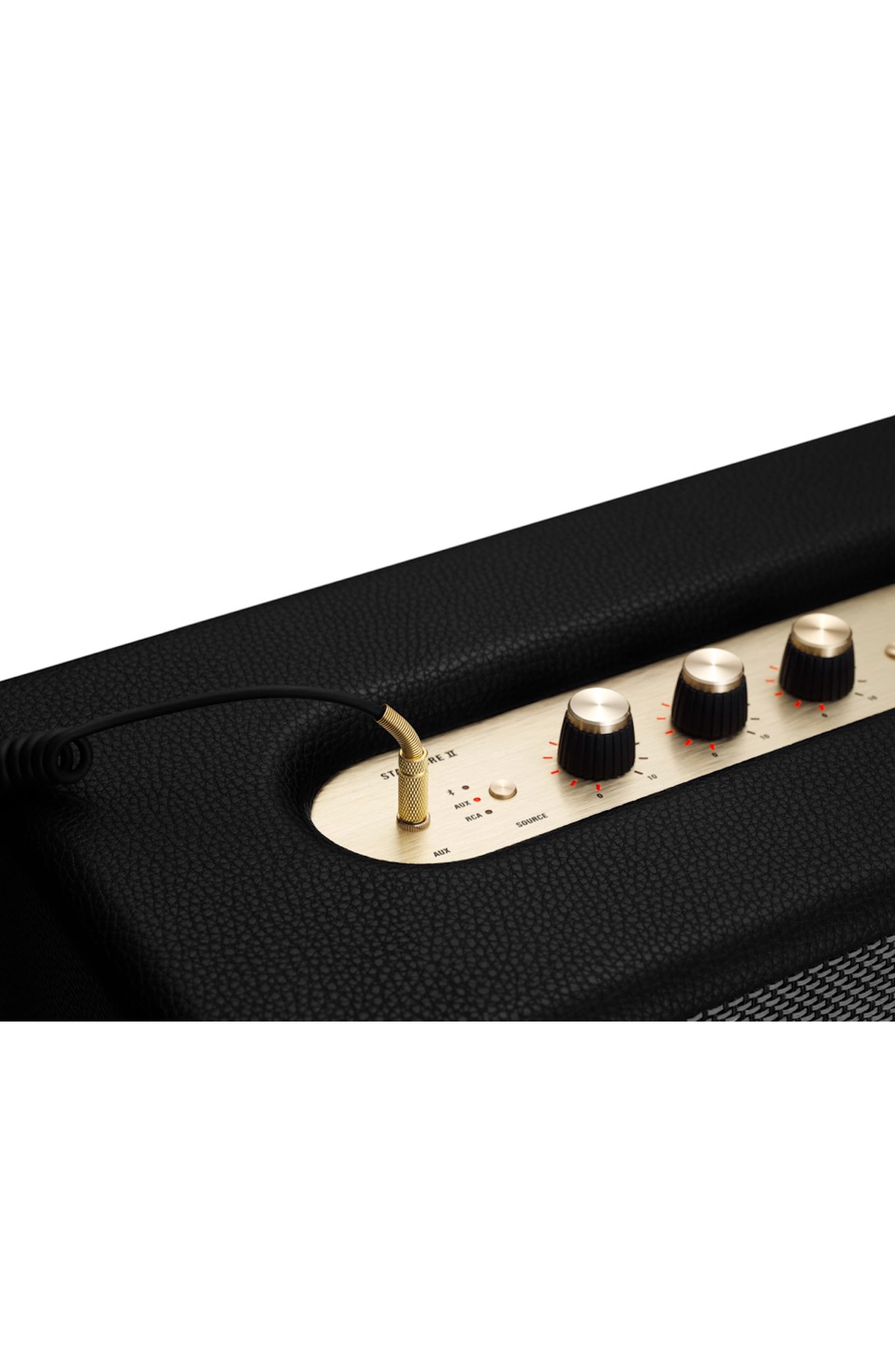 MARSHALL,                             Stanmore II Bluetooth<sup>®</sup> Speaker,                             Alternate thumbnail 4, color,                             BLACK