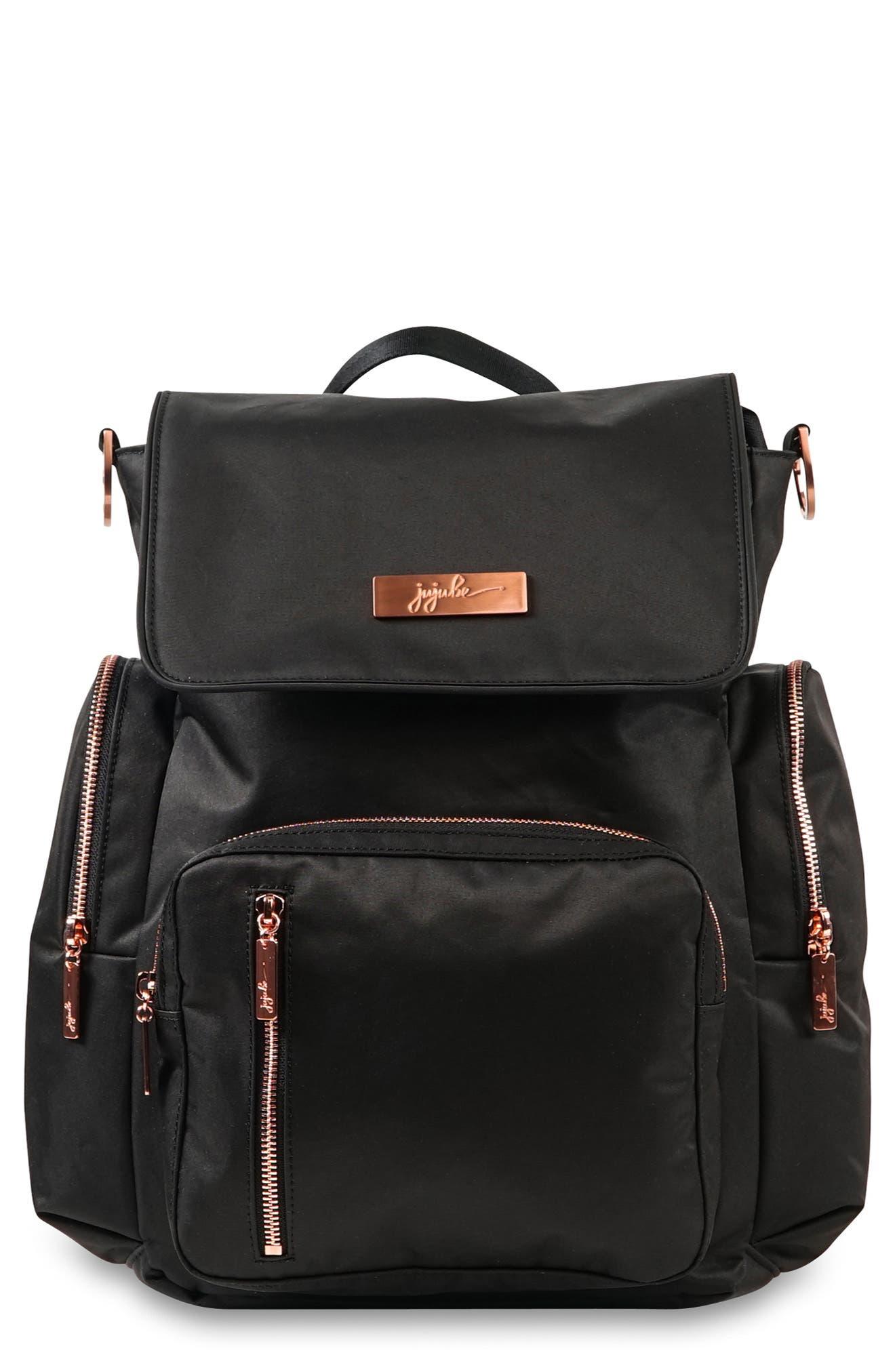 Infant JuJuBe Onyx Be Sporty Diaper Backpack  Purple