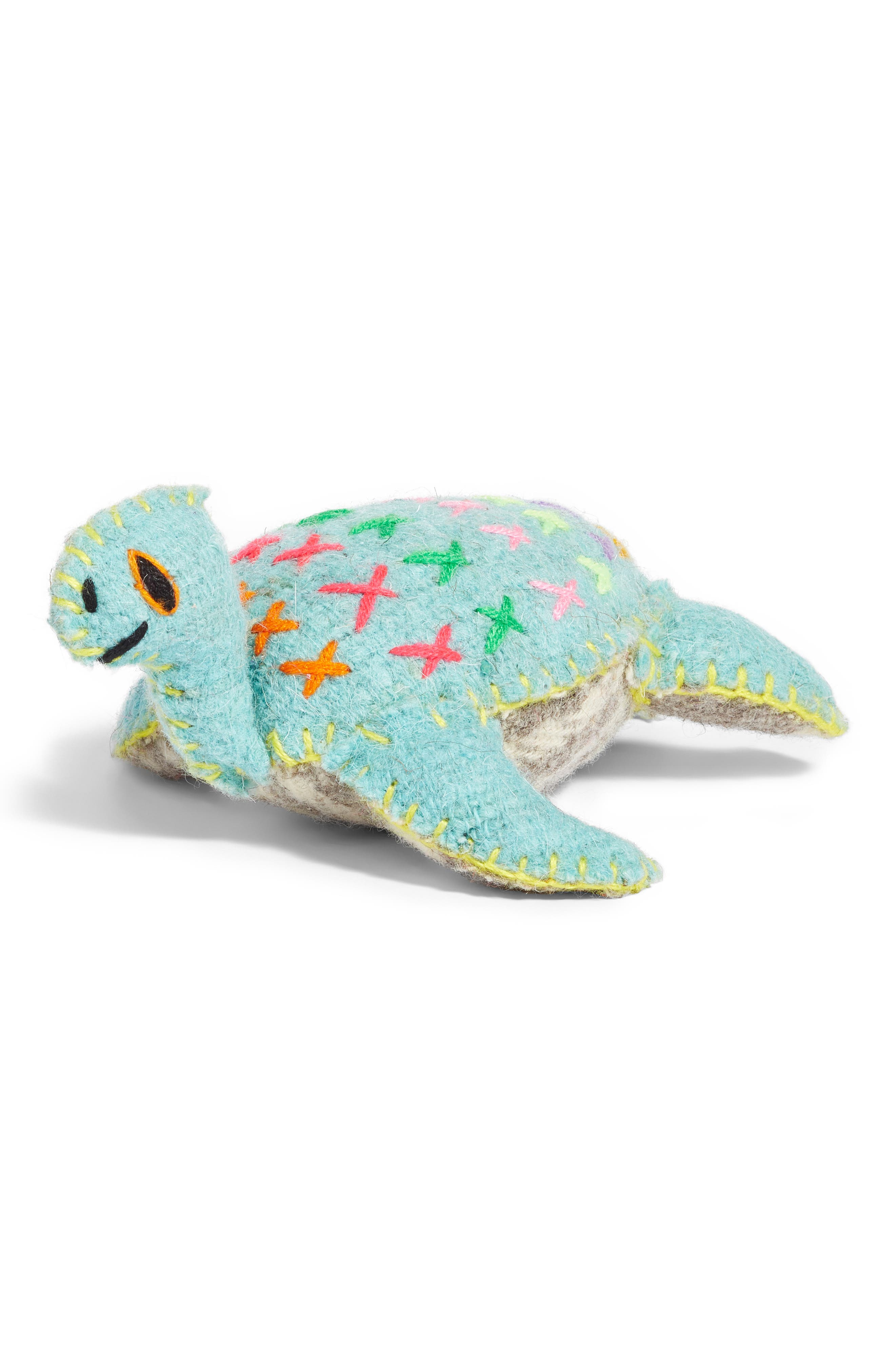 Sea Turtle Stuffed Animal,                             Main thumbnail 1, color,                             960