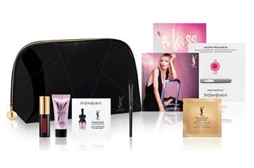 Yves Saint Laurent beauty gift with purchase.