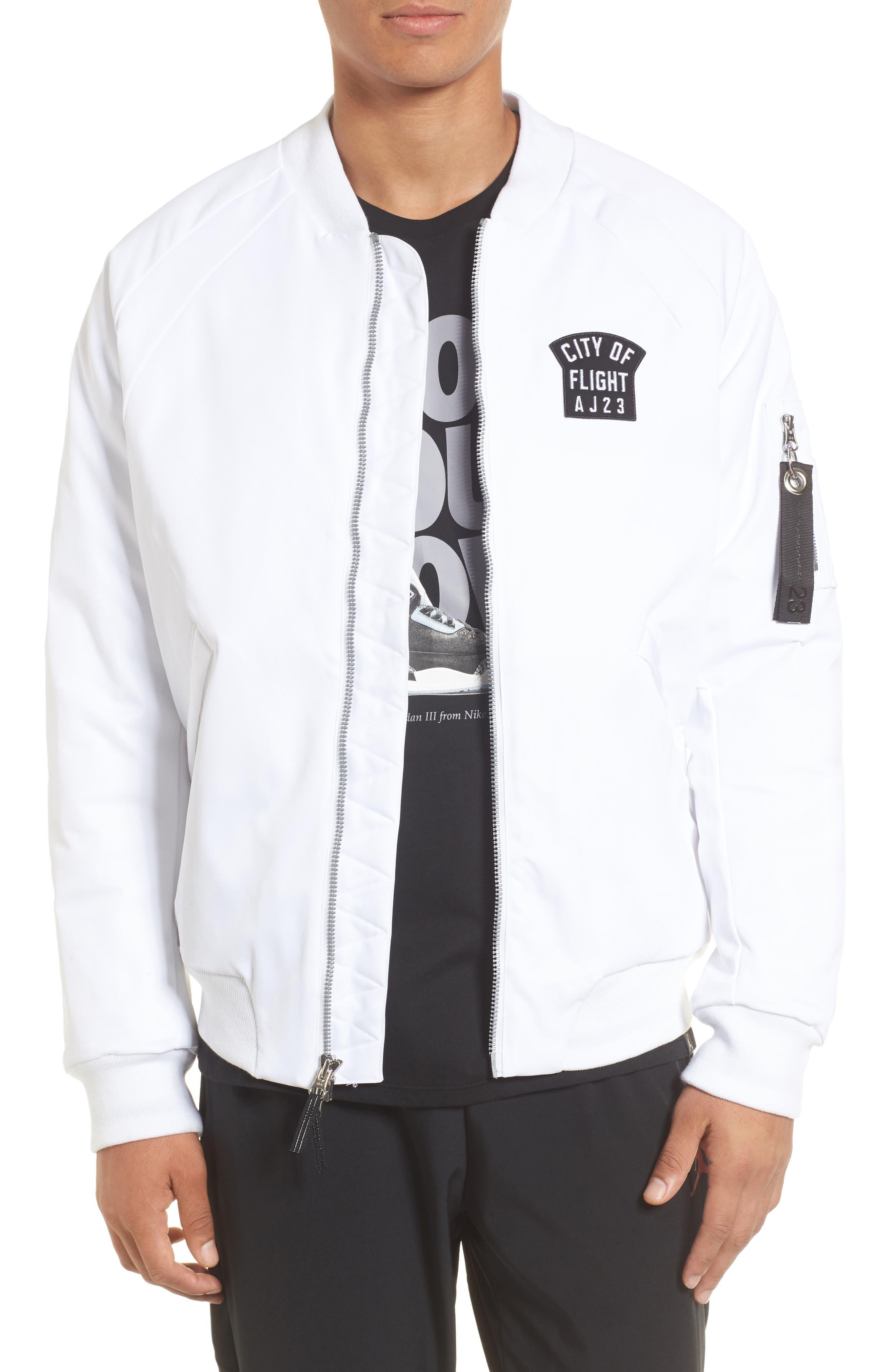 Sportswear City of Flight MA-1 Bomber Jacket,                             Main thumbnail 2, color,