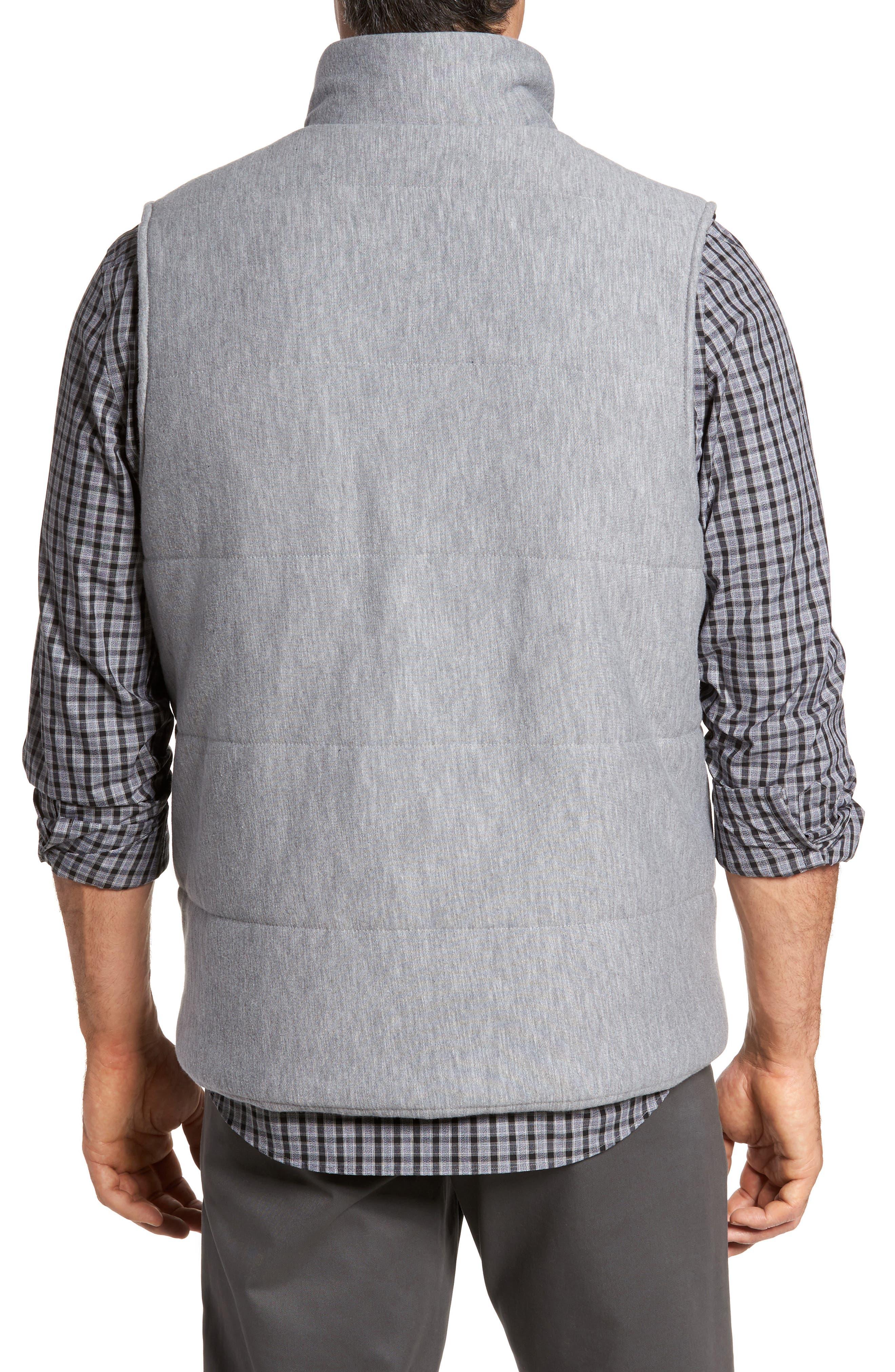 Quilted Fleece Vest,                             Alternate thumbnail 3, color,