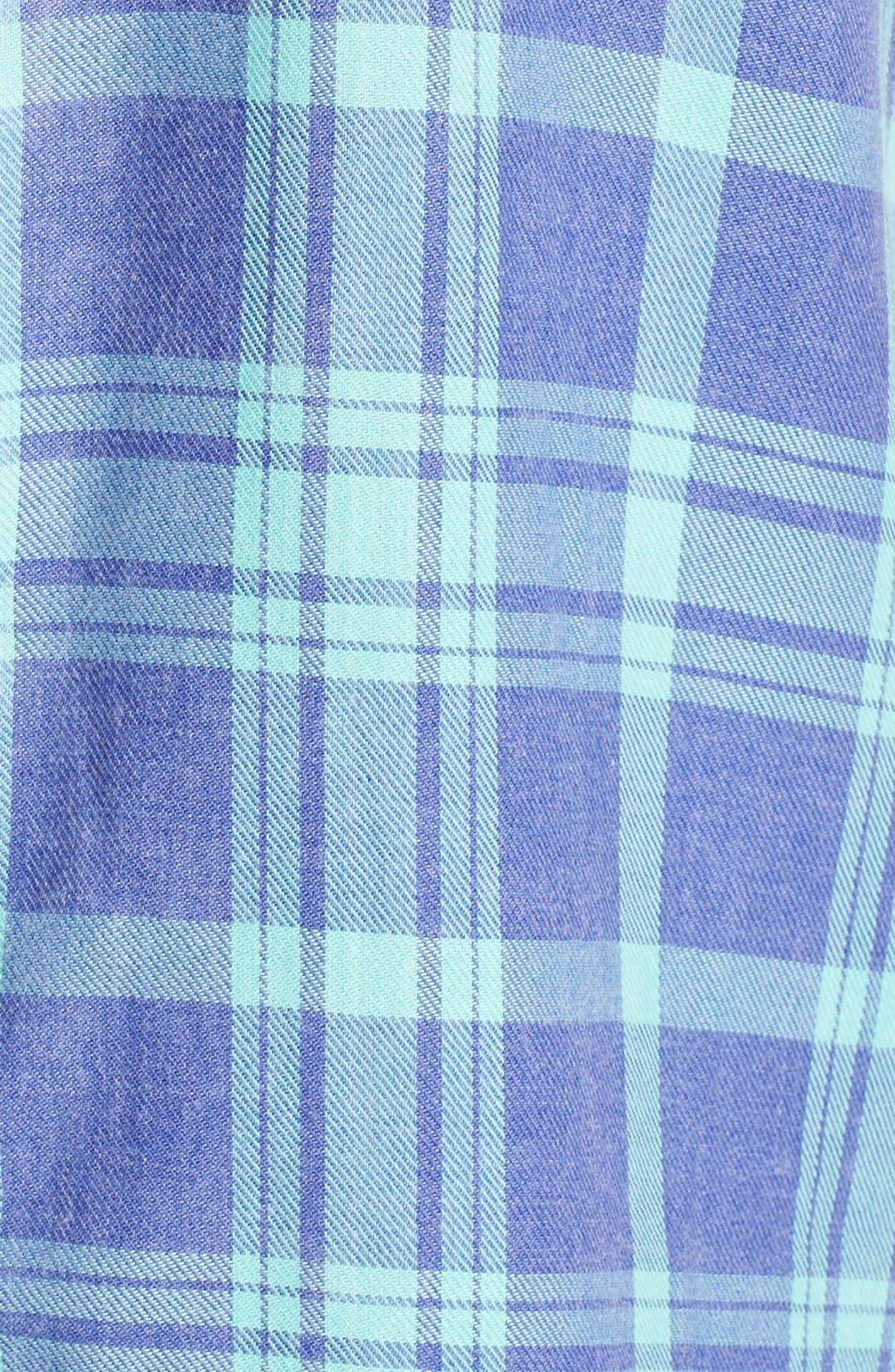 Plaid Night Shirt,                             Alternate thumbnail 23, color,