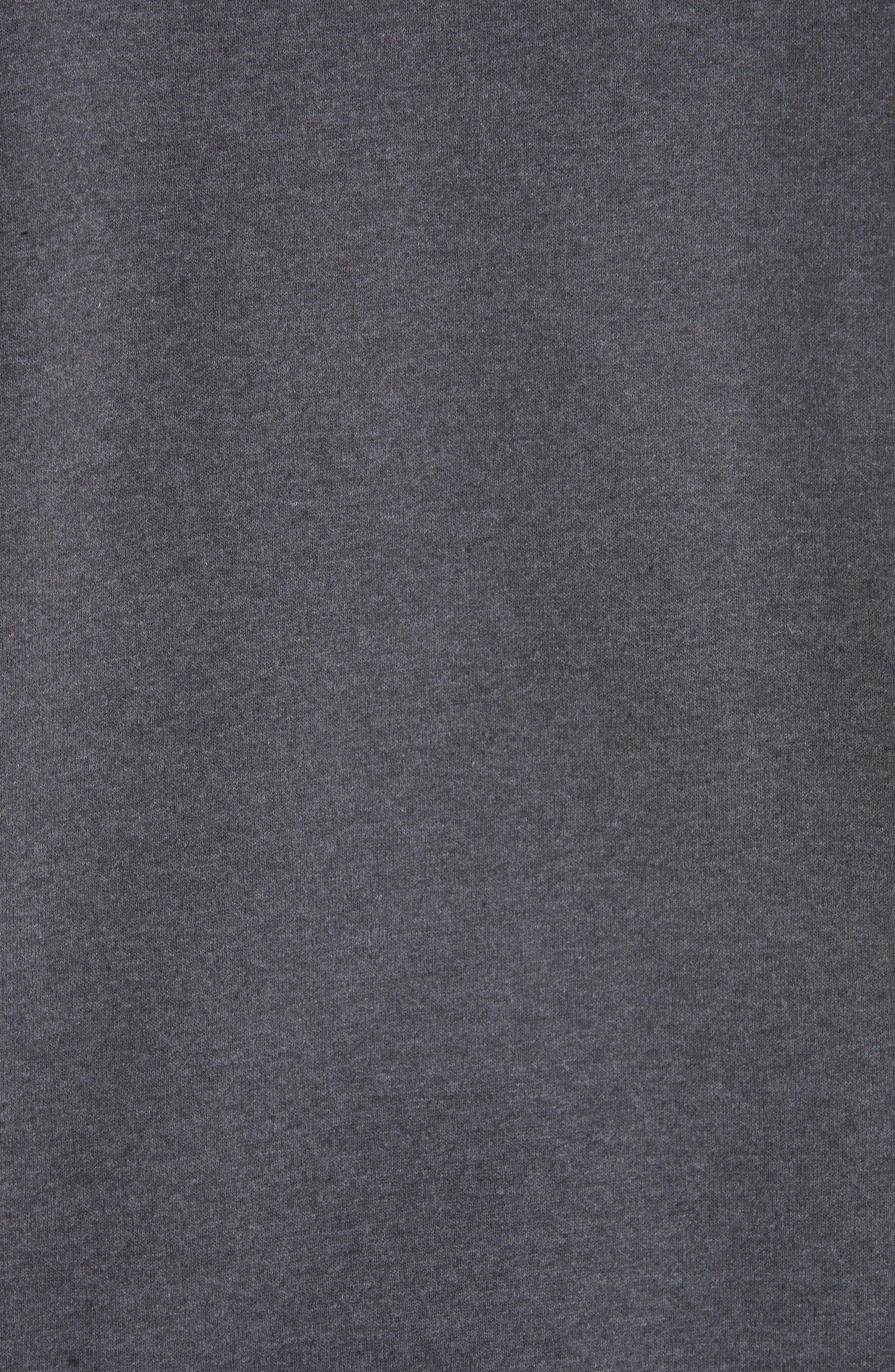 Roman Crewneck Sweatshirt,                             Alternate thumbnail 5, color,                             ANTHRACITE LAD