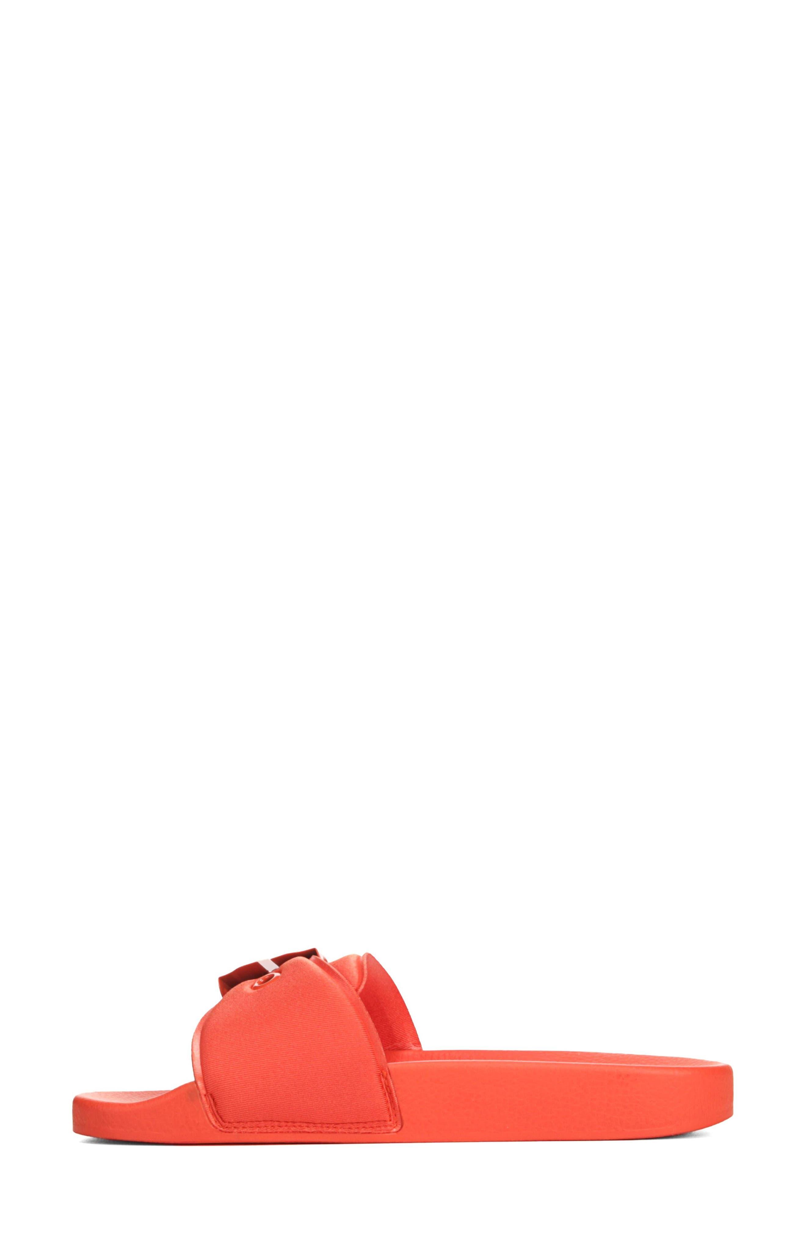 Original Pool Slide Sandal,                             Alternate thumbnail 3, color,                             TIGER LILY