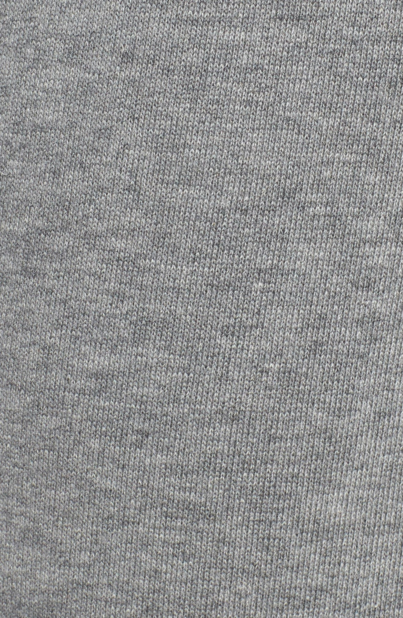 Loud Pack Cotton Sweatpants,                             Alternate thumbnail 5, color,                             MEDIUM GRAY HEATHER