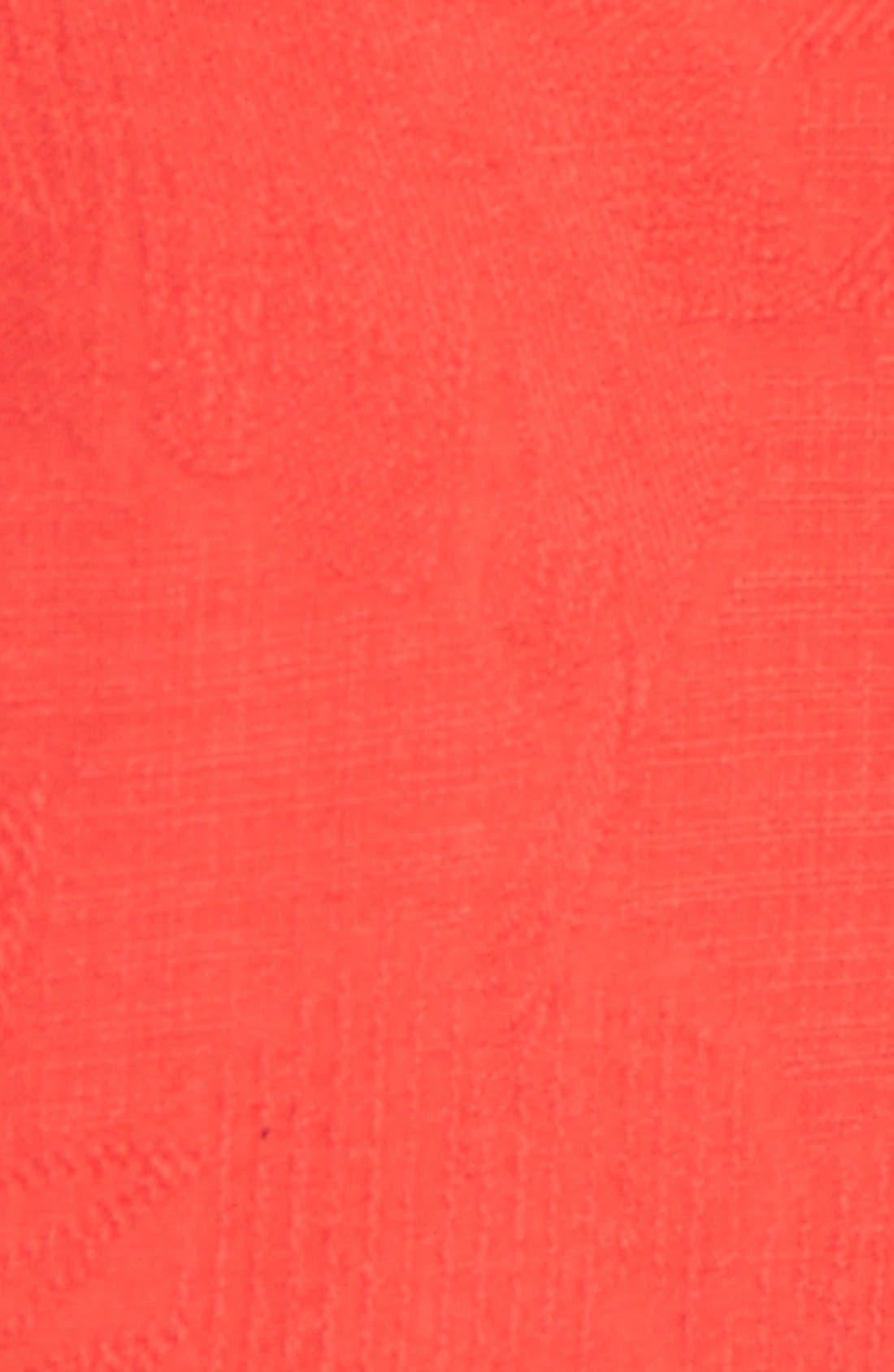 Rio Fronds Short Sleeve Silk Sport Shirt,                             Alternate thumbnail 76, color,
