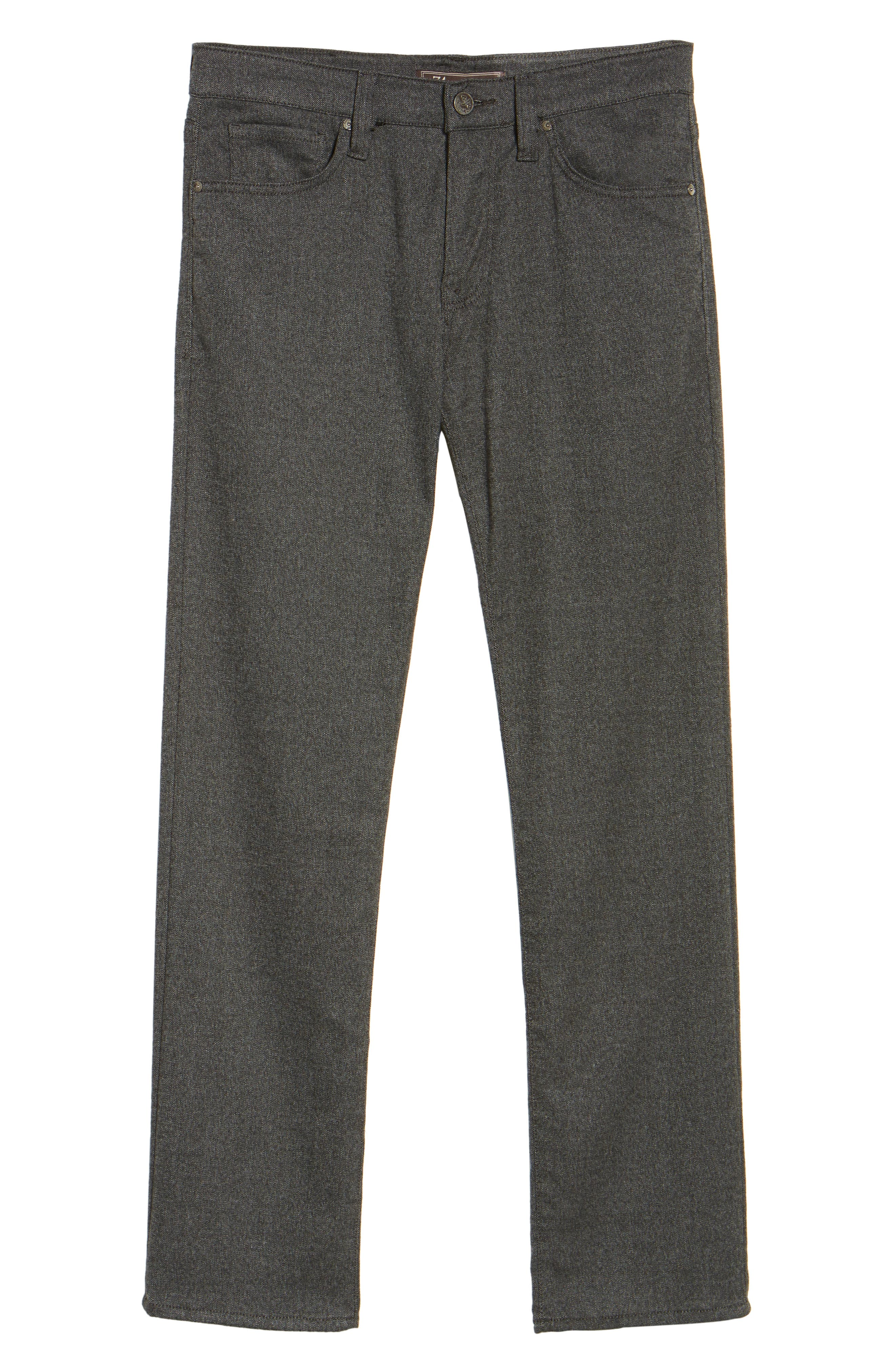 Courage Straight Leg Tweed Pants,                             Alternate thumbnail 6, color,                             020
