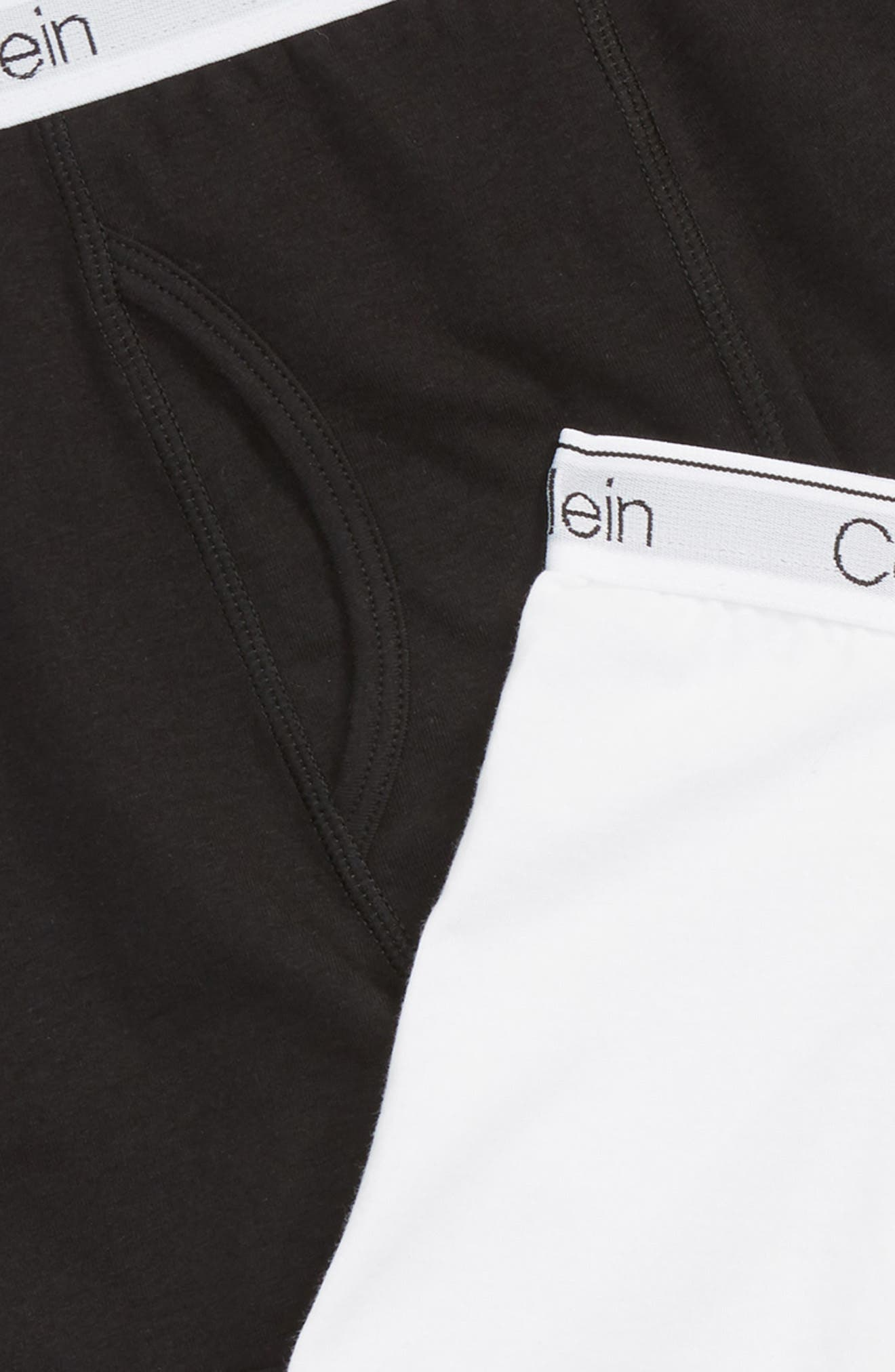 2-Pack Modern Boxer Briefs,                             Alternate thumbnail 2, color,                             BLACK/CLASSIC WHITE