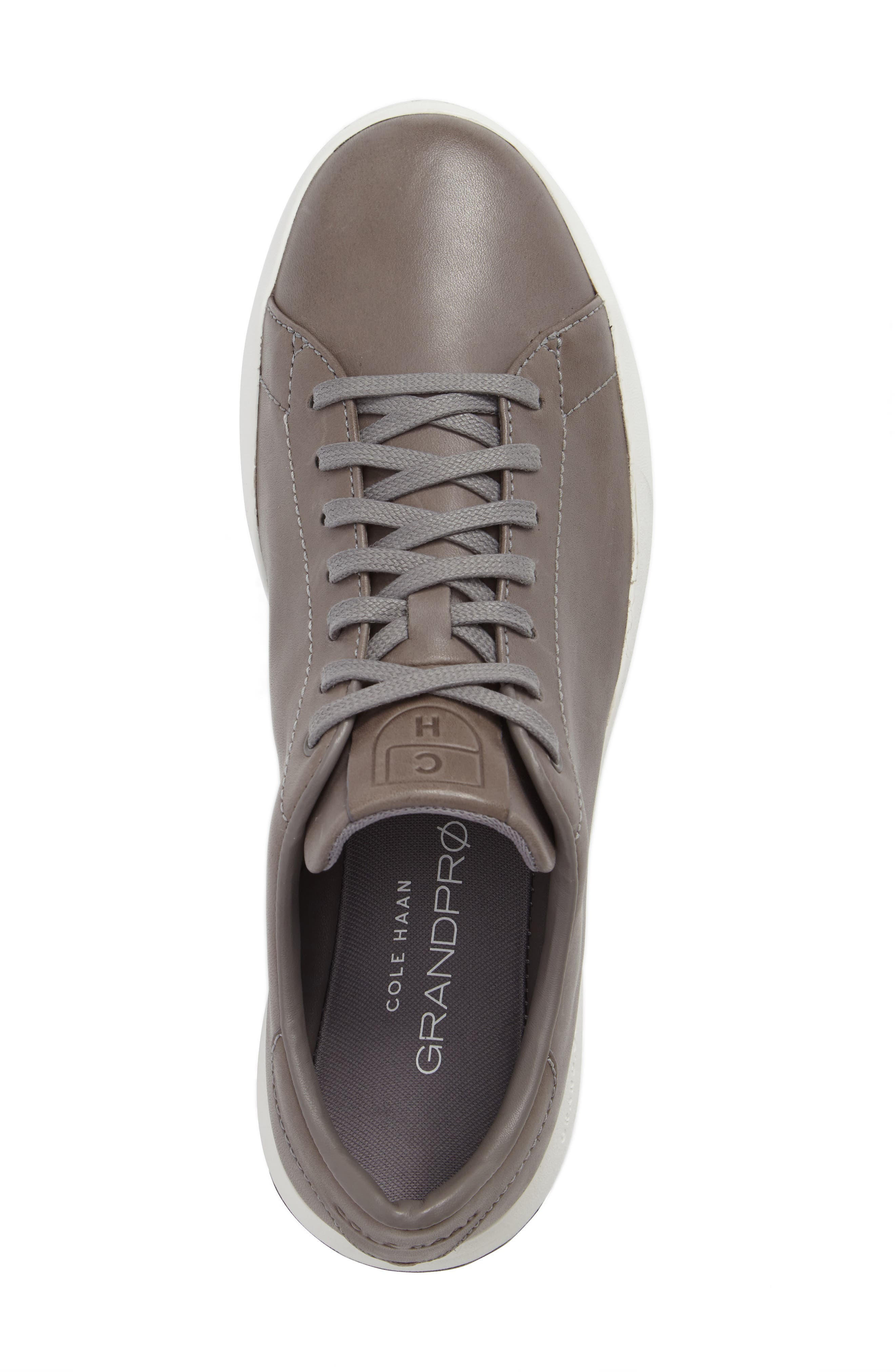GrandPro Tennis Sneaker,                             Alternate thumbnail 5, color,                             IRONCLOUD LEATHER