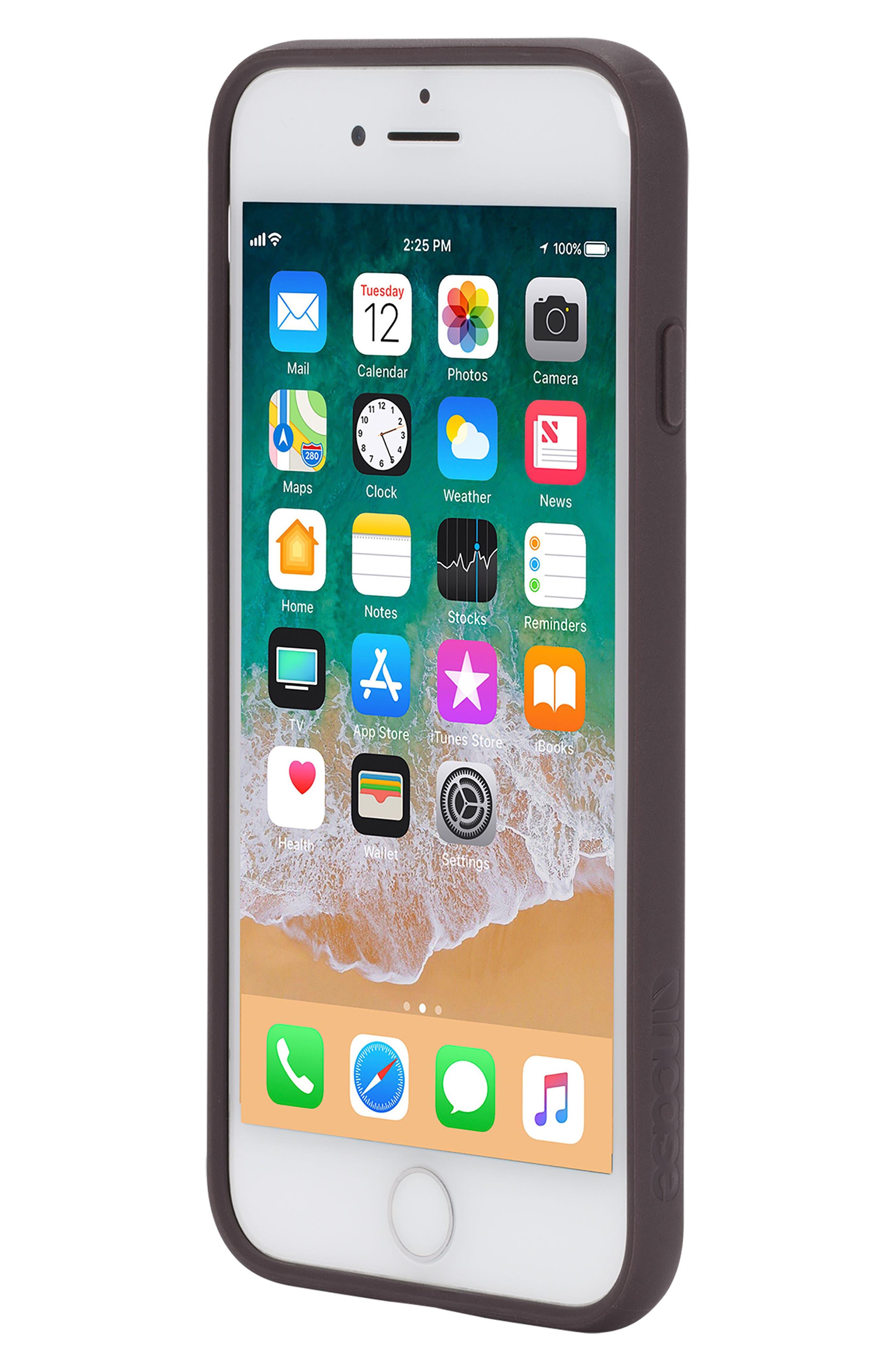 Pop iPhone 7/8 Case,                             Alternate thumbnail 5, color,                             DEEP TAUPE