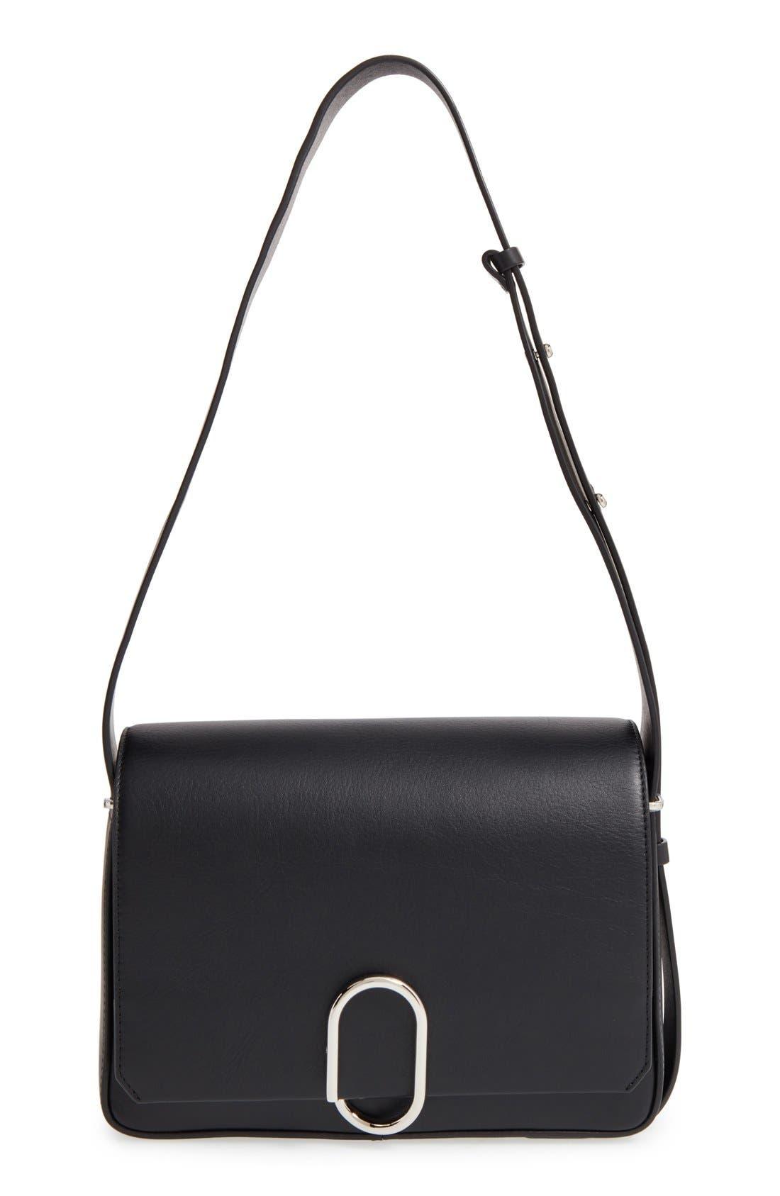 'Alix' Flap Shoulder Bag,                         Main,                         color,
