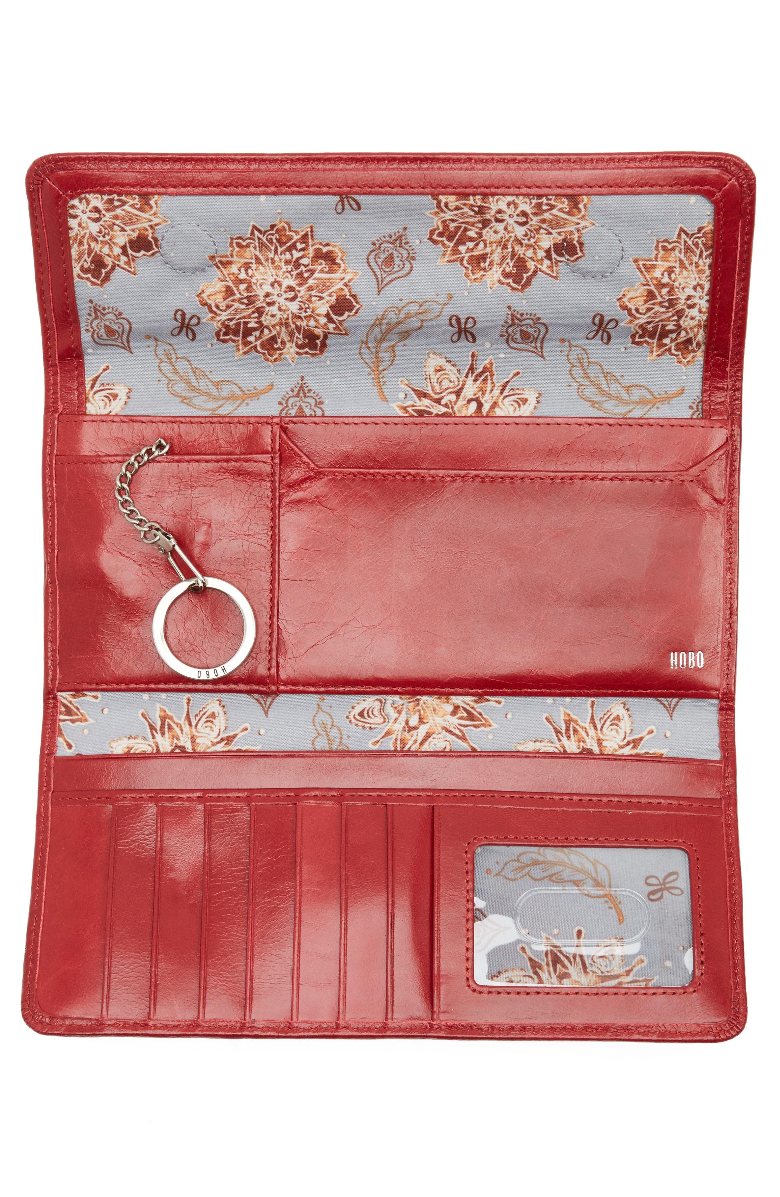 'Sadie' Leather Wallet,                             Alternate thumbnail 143, color,