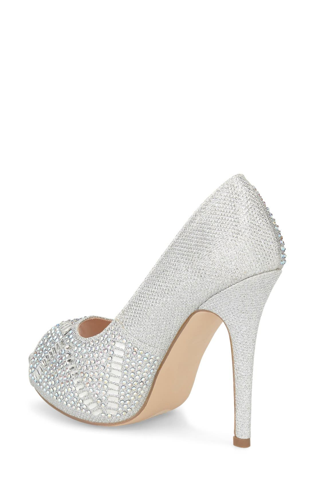 Elissa - 3 Peep Toe Pump,                             Alternate thumbnail 5, color,
