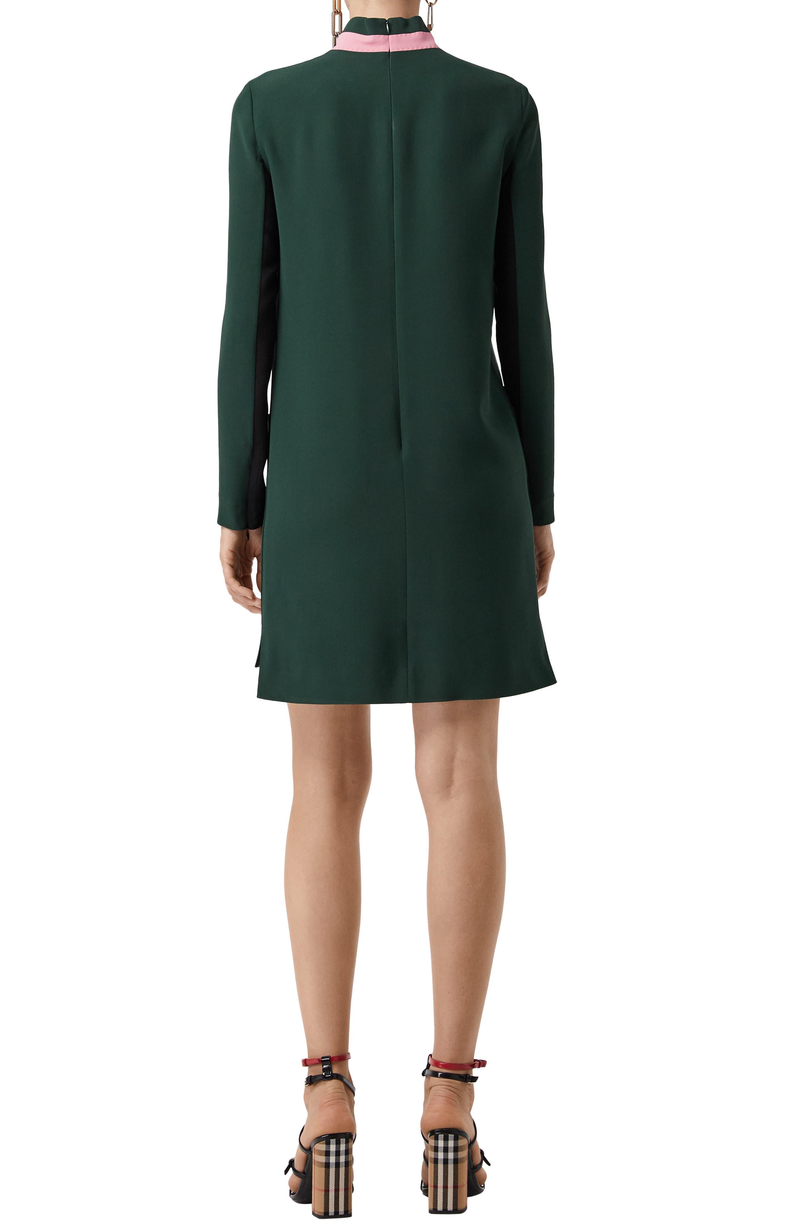 Zoya Two-Tone Shift Dress,                             Alternate thumbnail 2, color,                             301