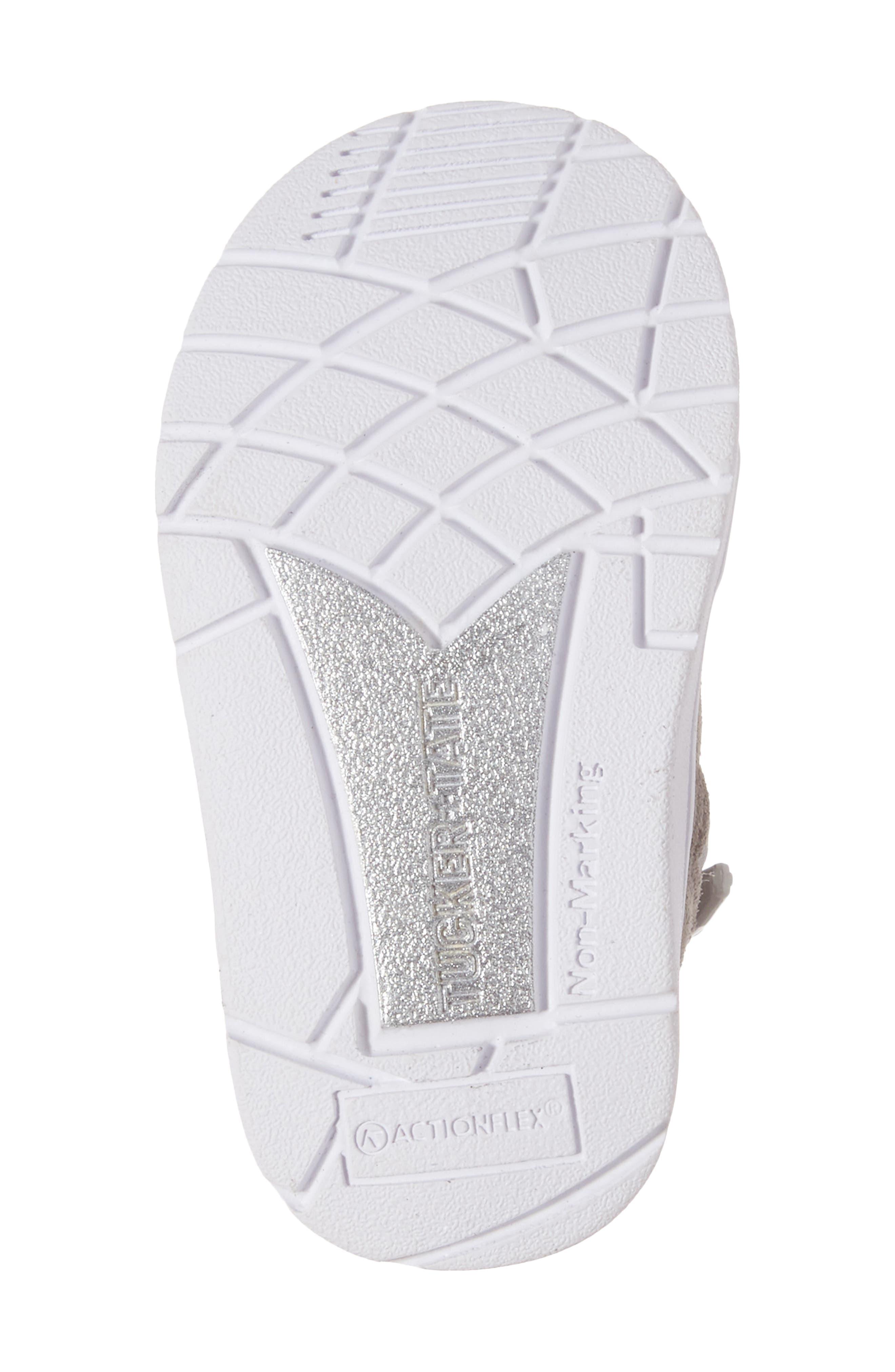 Diantha Star Appliqué High Top Sneaker,                             Alternate thumbnail 6, color,                             020