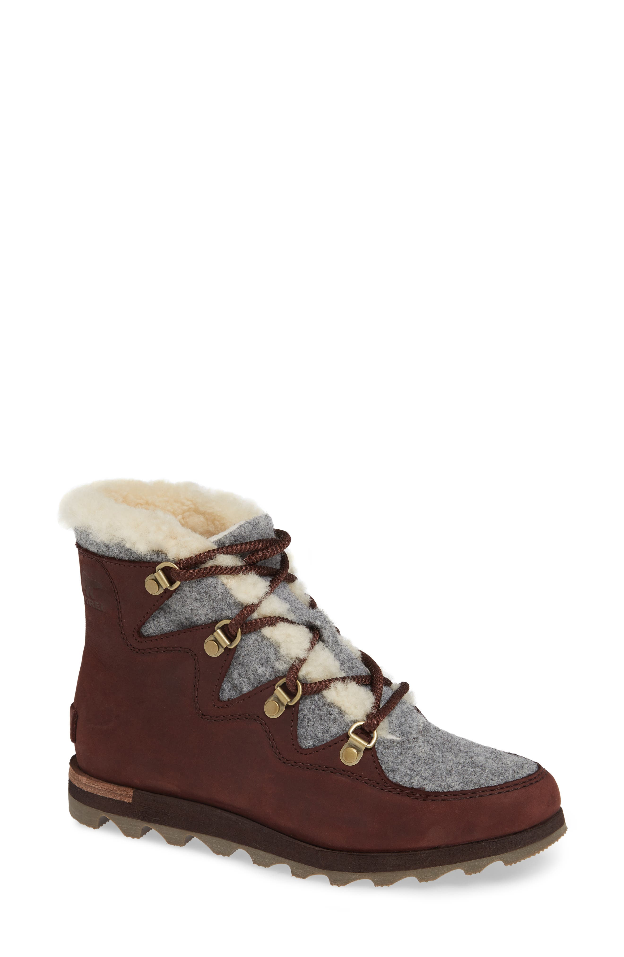 Sneakchic Alpine Holiday Waterproof Bootie,                             Main thumbnail 1, color,                             CATTAIL/ GUM