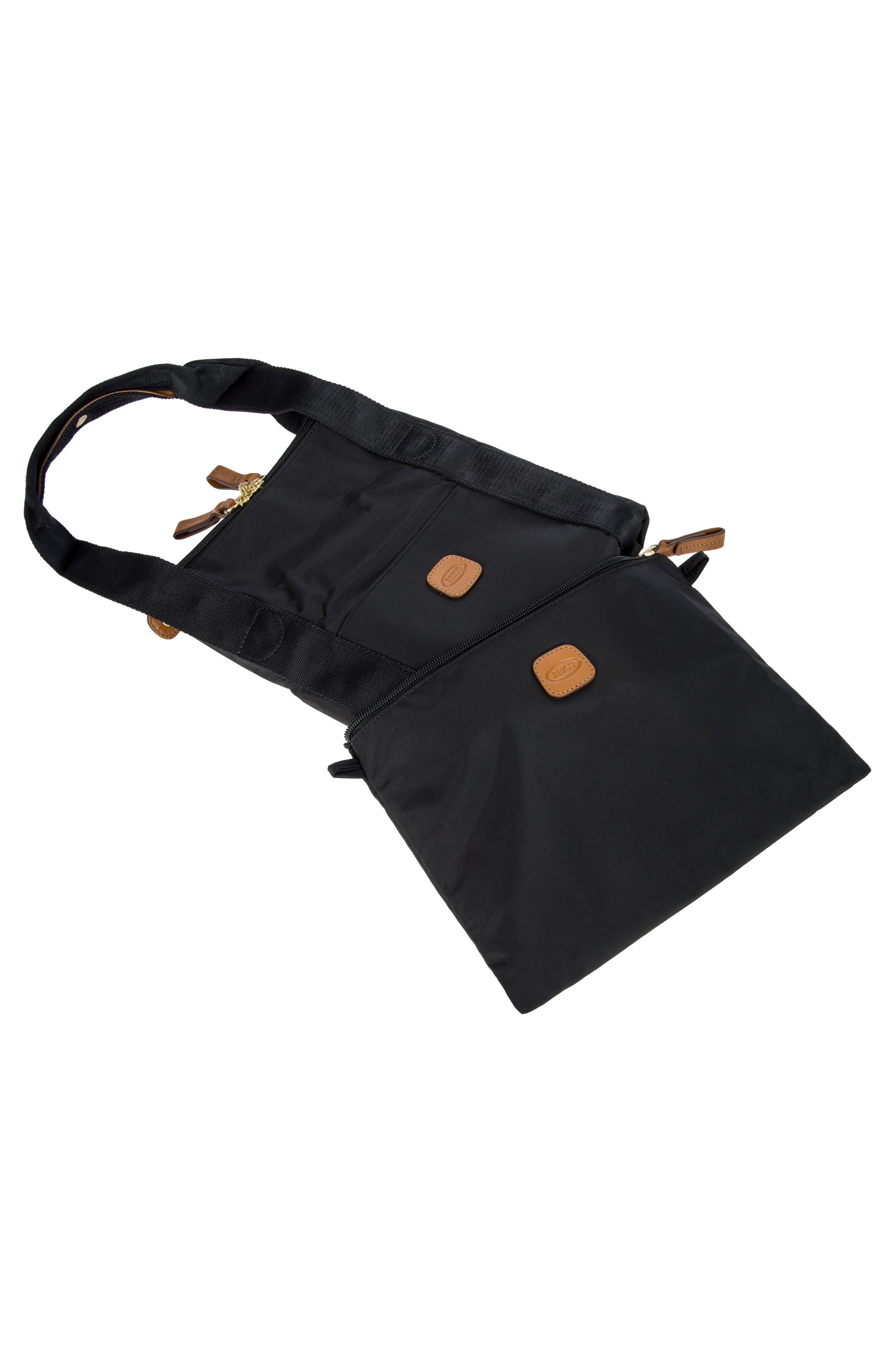 X-Bag 18-Inch Folding Duffel Bag,                             Alternate thumbnail 7, color,                             BLACK