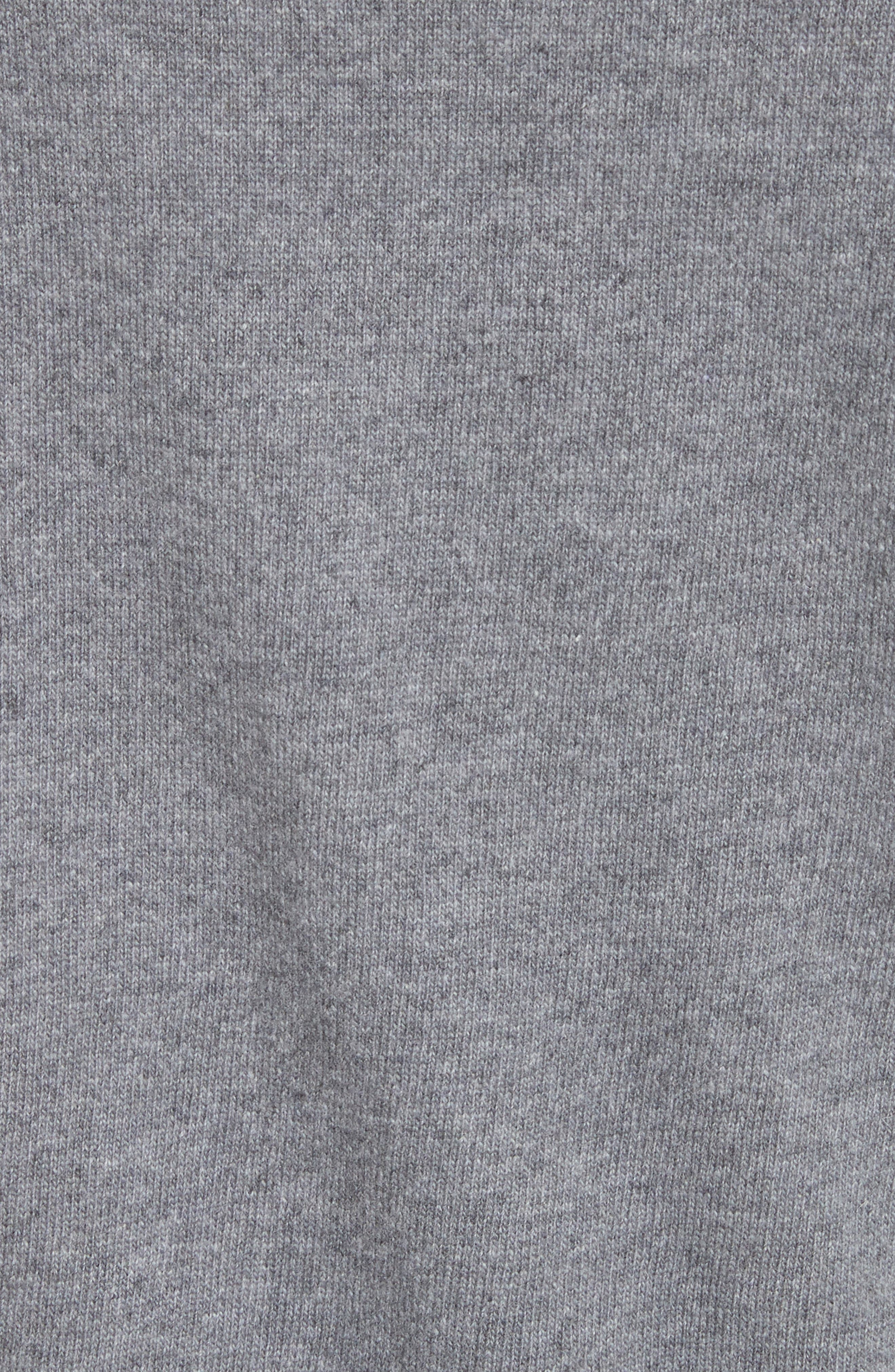 Wool & Cashmere Logo Sweater,                             Alternate thumbnail 5, color,                             030