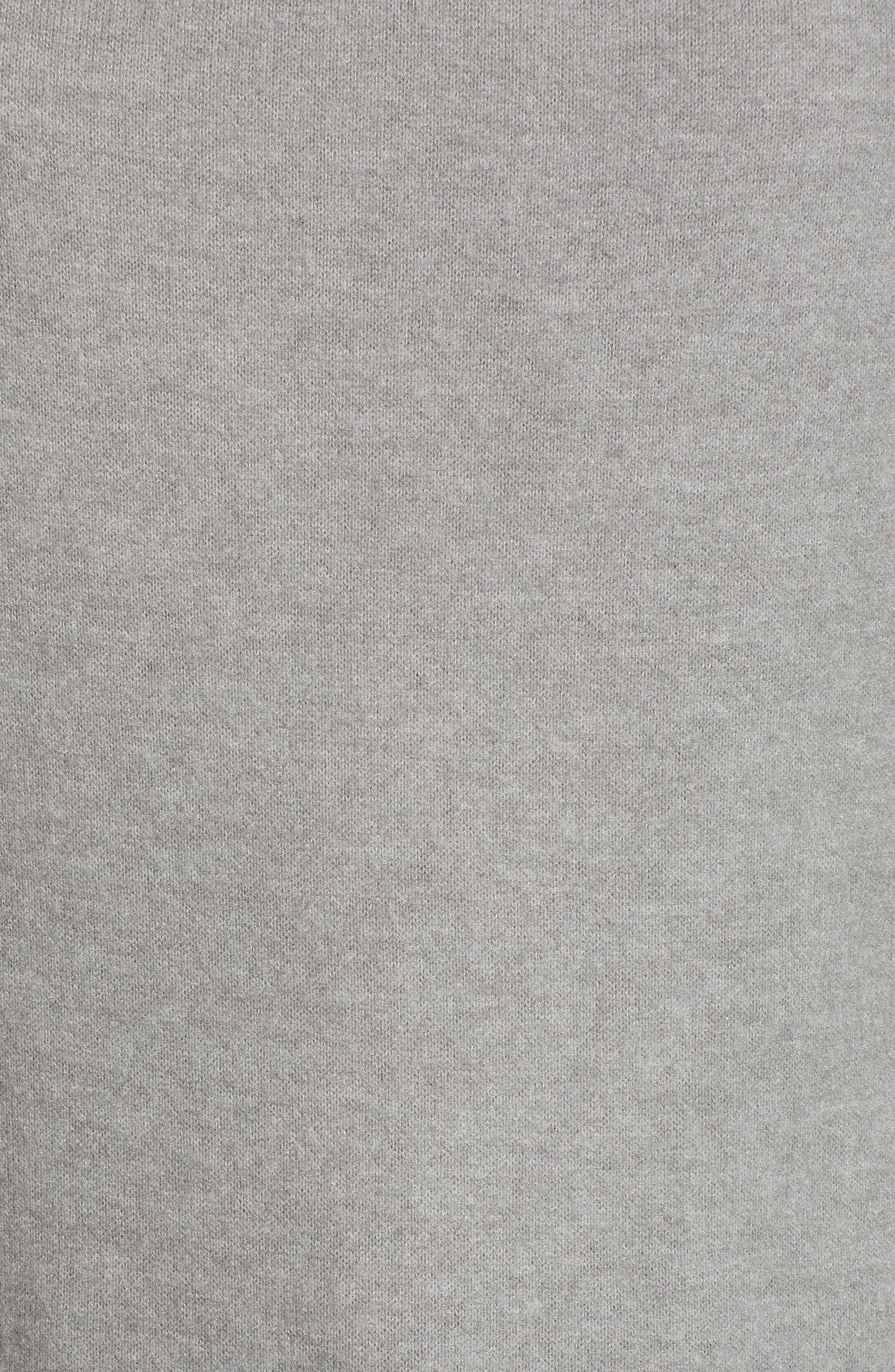 Elm Knit Cowl Neck Top,                             Alternate thumbnail 5, color,                             EIFFEL TOWER
