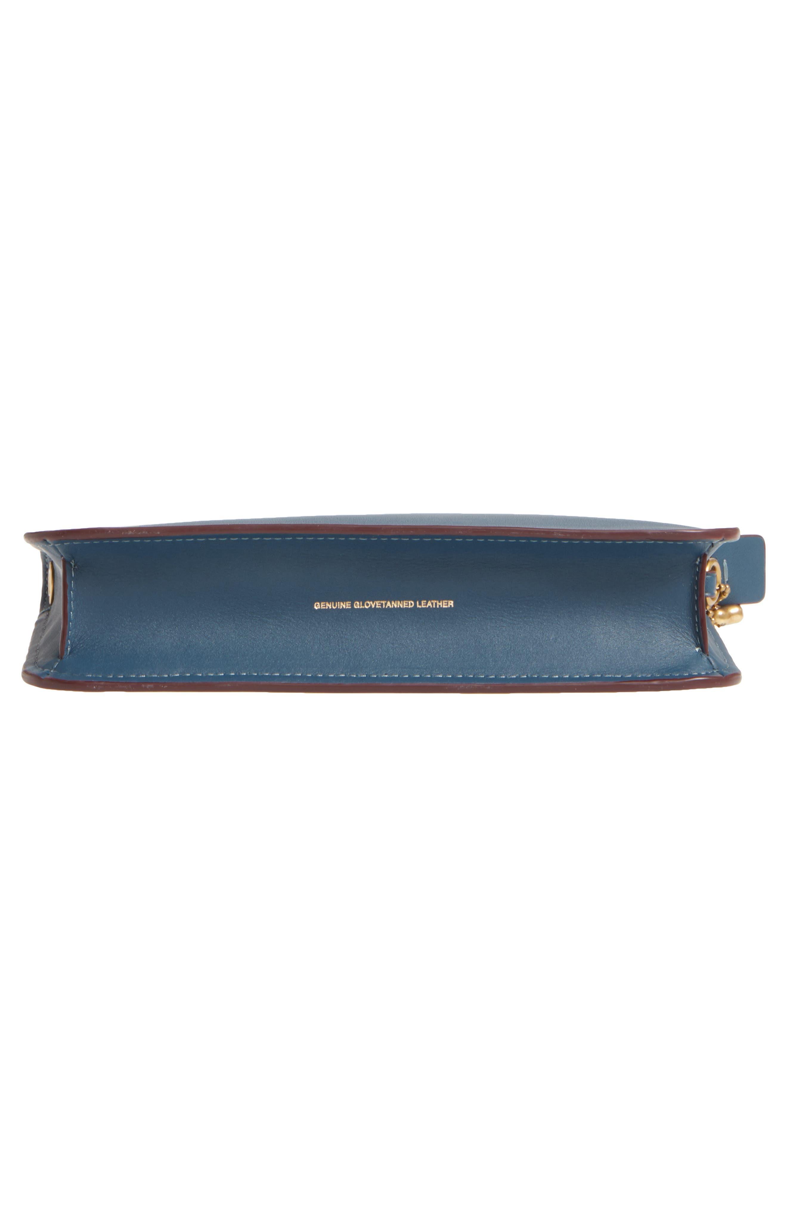 Soho Leather Crossbody Bag,                             Alternate thumbnail 6, color,