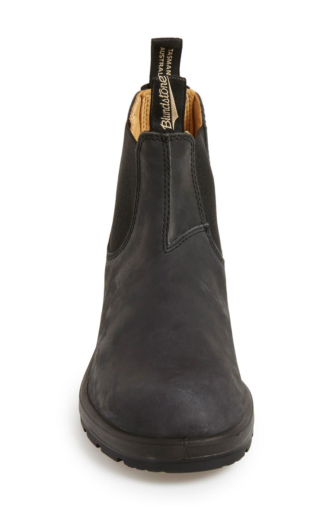 Footwear Chelsea Boot,                             Alternate thumbnail 3, color,                             RUSTIC BLACK