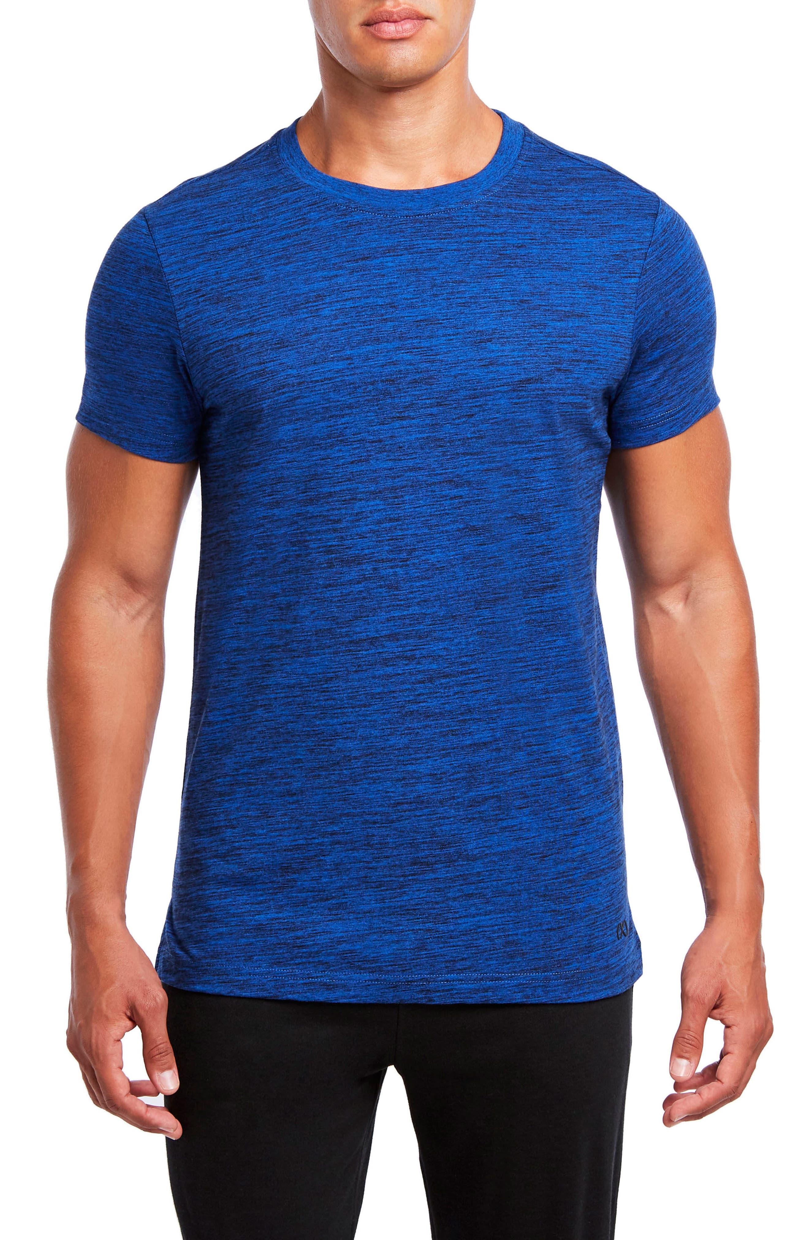 Static Crewneck Cotton T-Shirt,                             Main thumbnail 2, color,