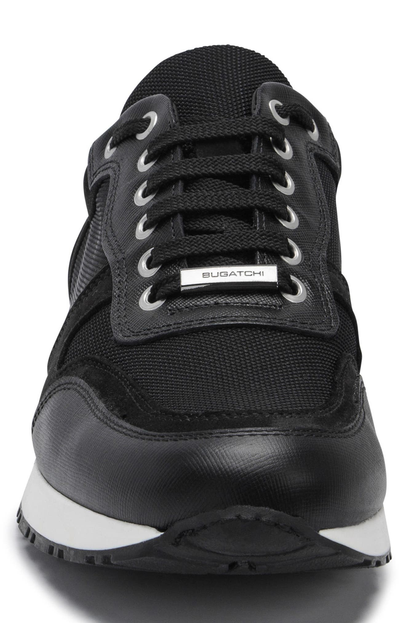 Modena Sneaker,                             Alternate thumbnail 4, color,                             NERO BLACK