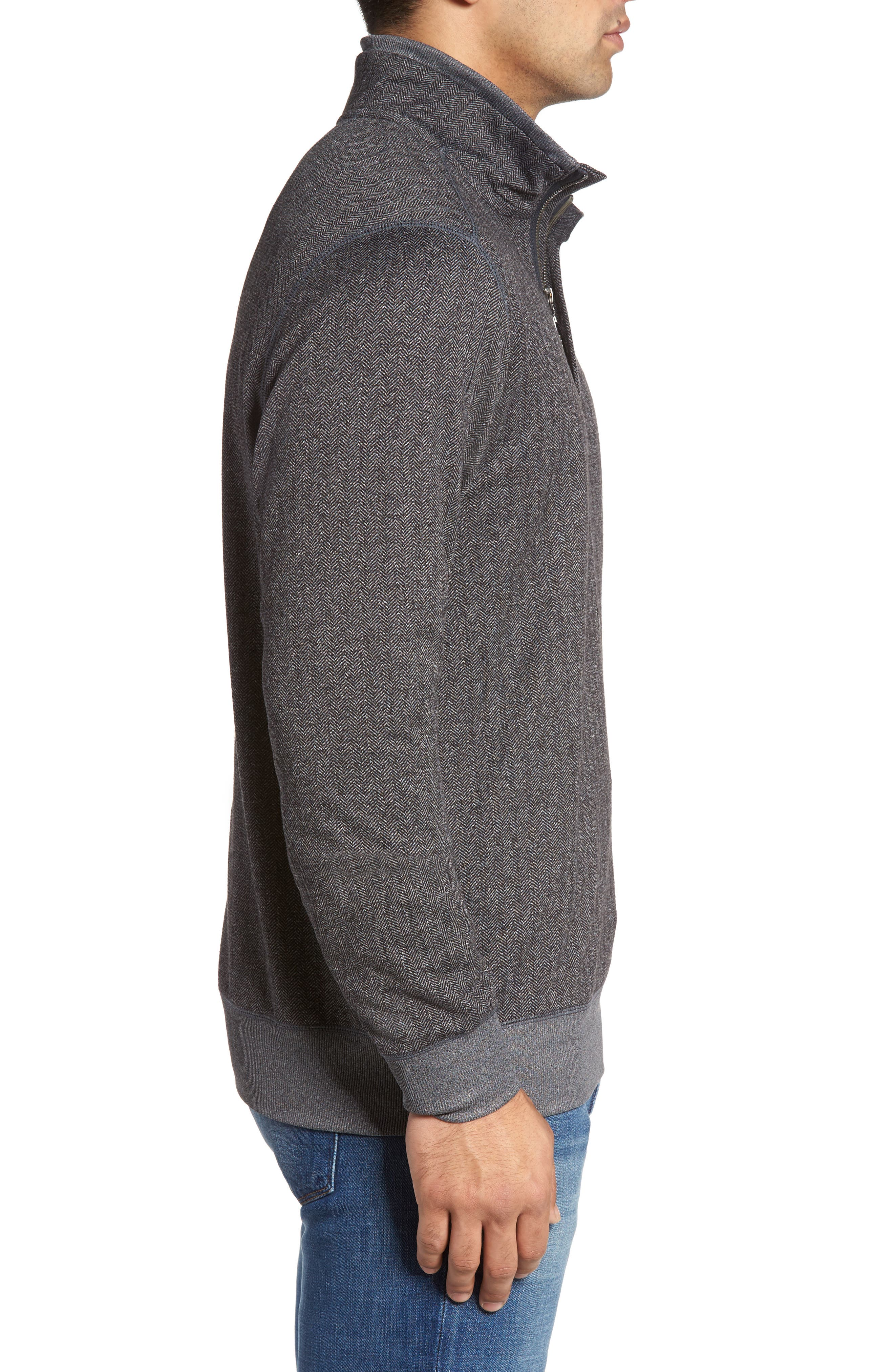 Pro Formance Quarter Zip Sweater,                             Alternate thumbnail 4, color,                             050