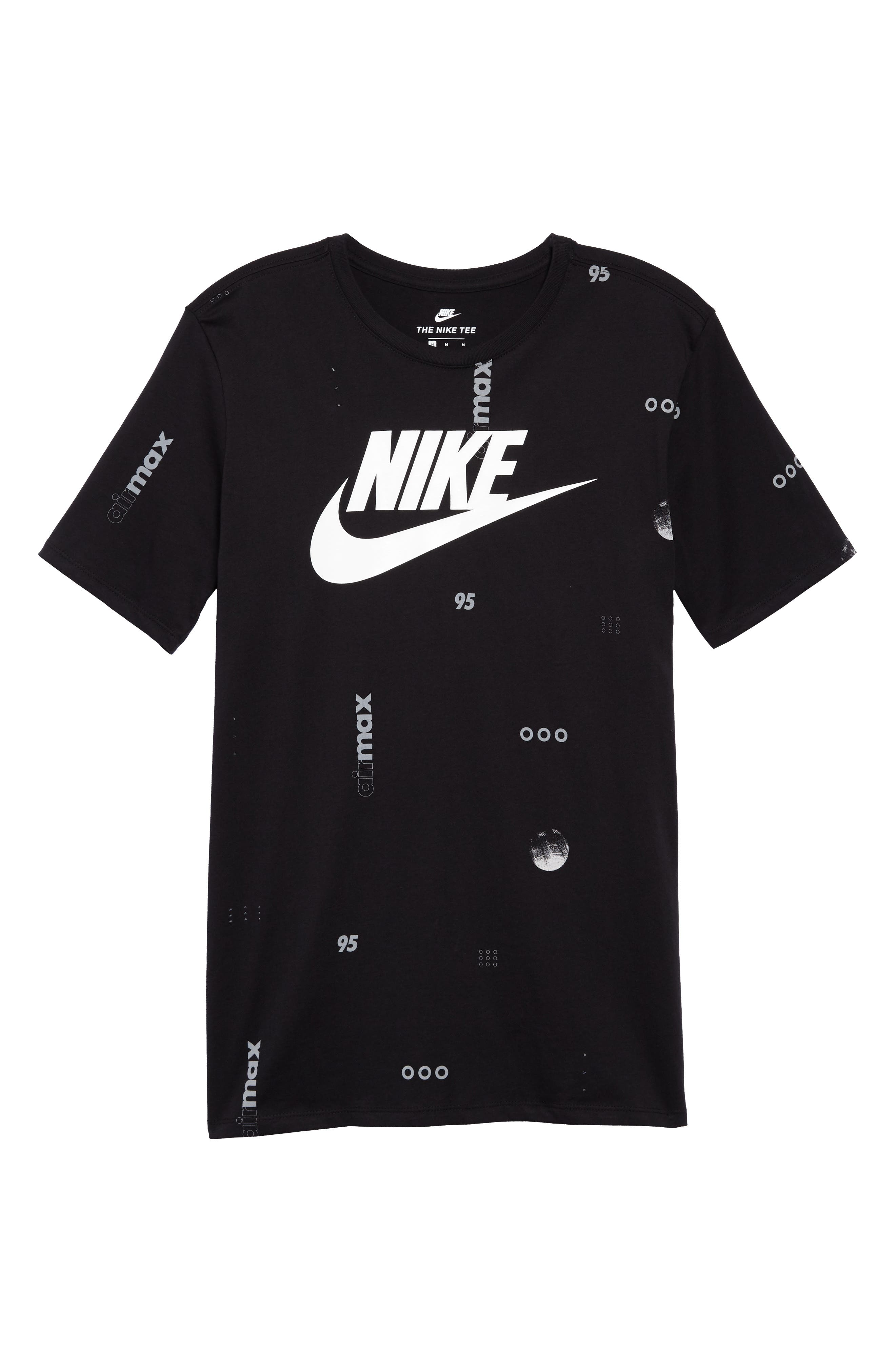 Sportswear Air Max Print T-Shirt,                             Alternate thumbnail 6, color,                             010
