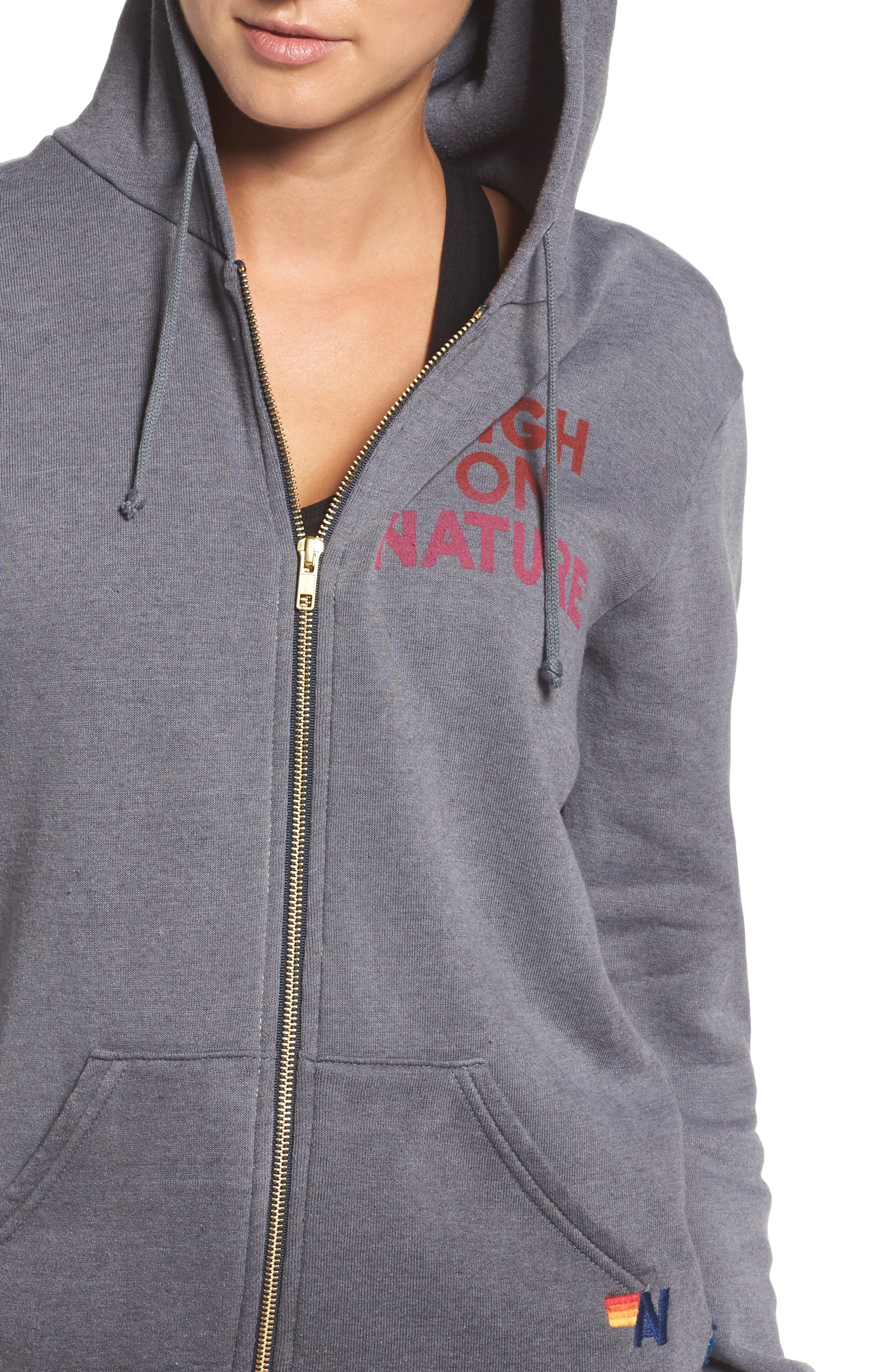 High on Nature Hoodie,                             Alternate thumbnail 4, color,                             020