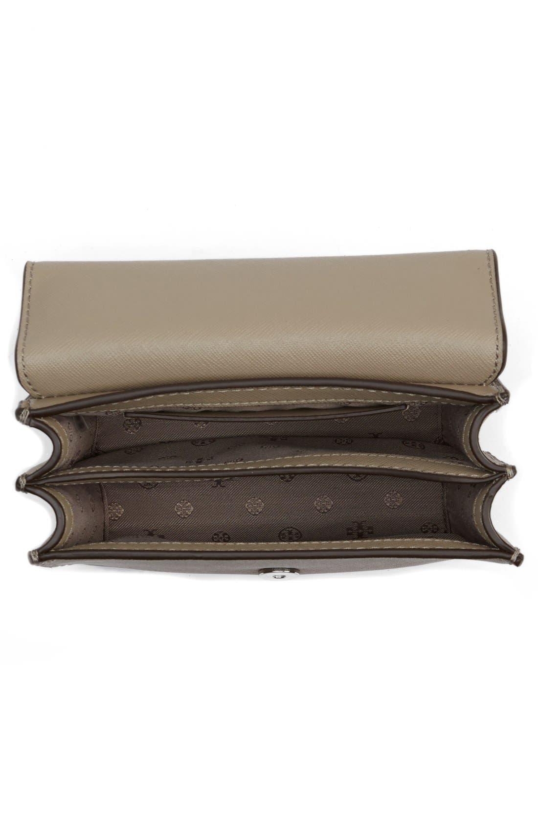 Mini Robinson Convertible Leather Shoulder Bag,                             Alternate thumbnail 5, color,                             036