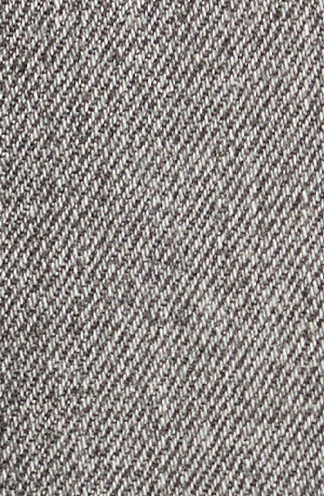 Frayed Hem Denim Skirt,                             Alternate thumbnail 5, color,                             030