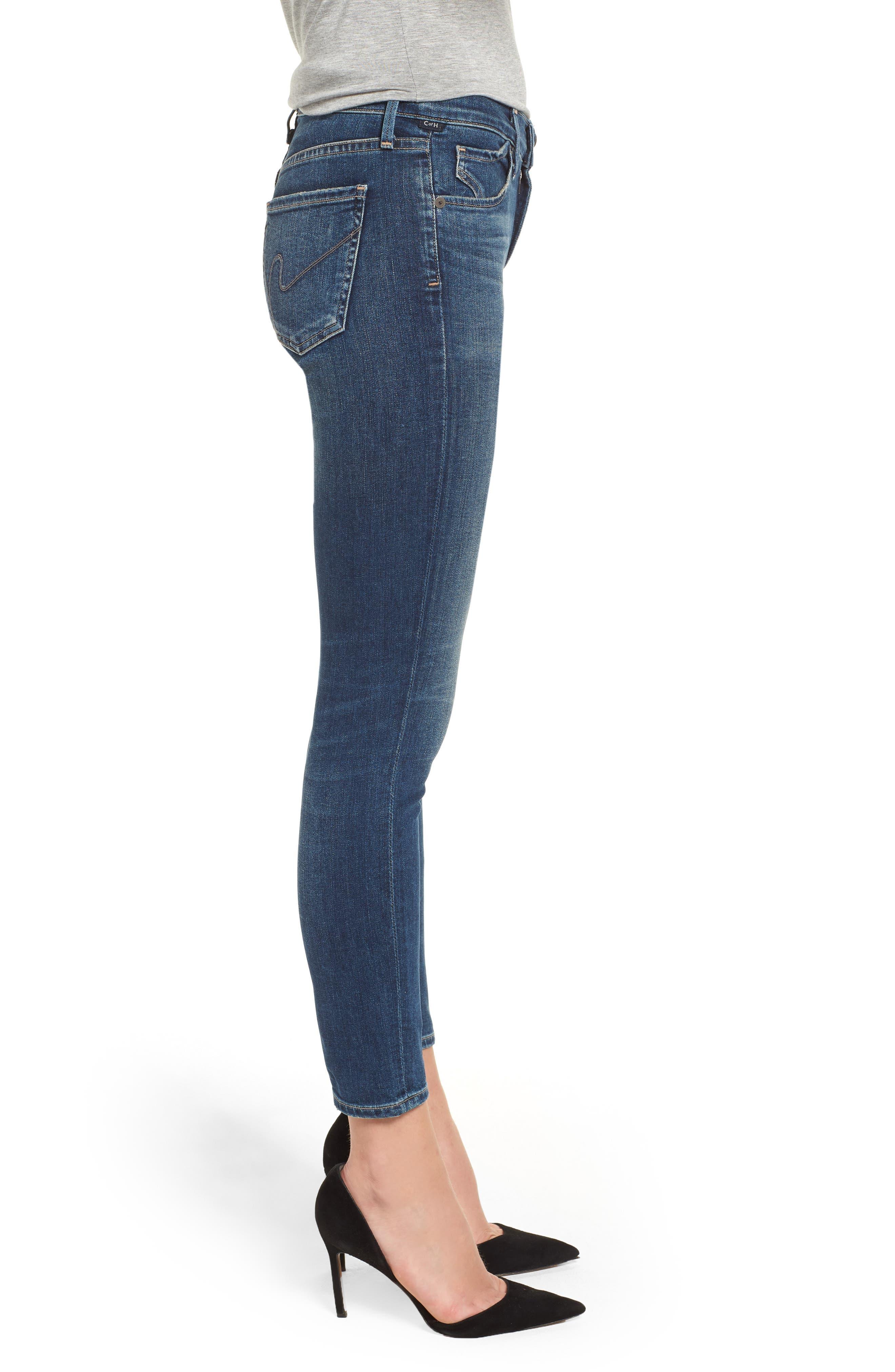 Ankle Skinny Jeans,                             Alternate thumbnail 3, color,                             MODERN LOVE