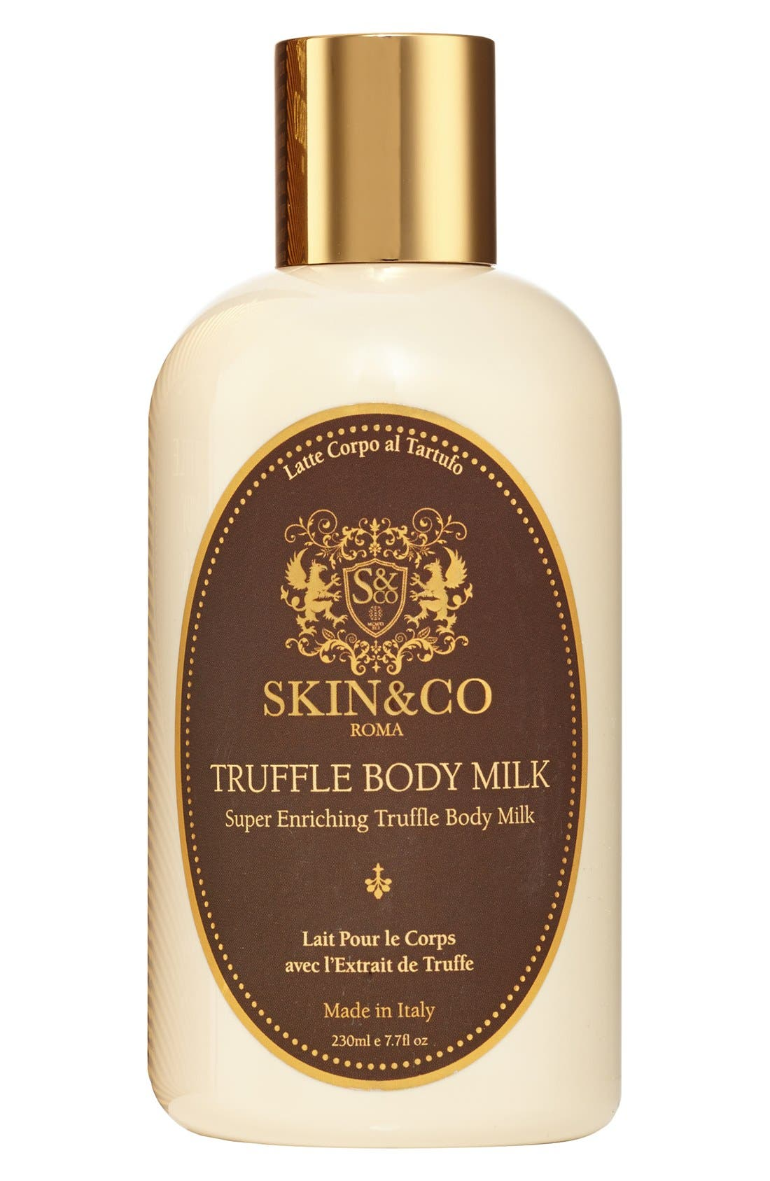 SKIN&CO Truffle Body Milk,                             Main thumbnail 1, color,                             000