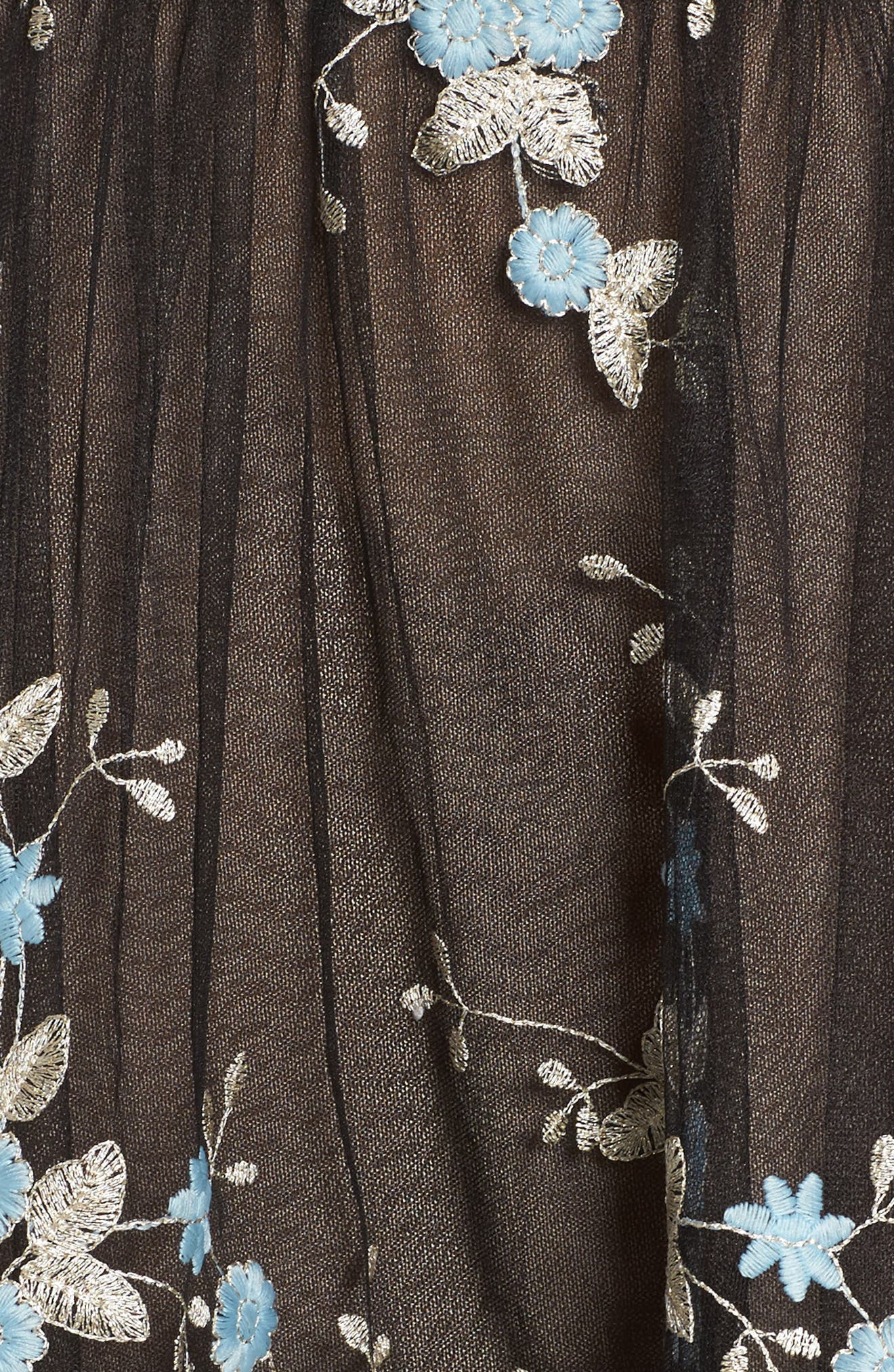Marietta Fit & Flare Dress,                             Alternate thumbnail 5, color,