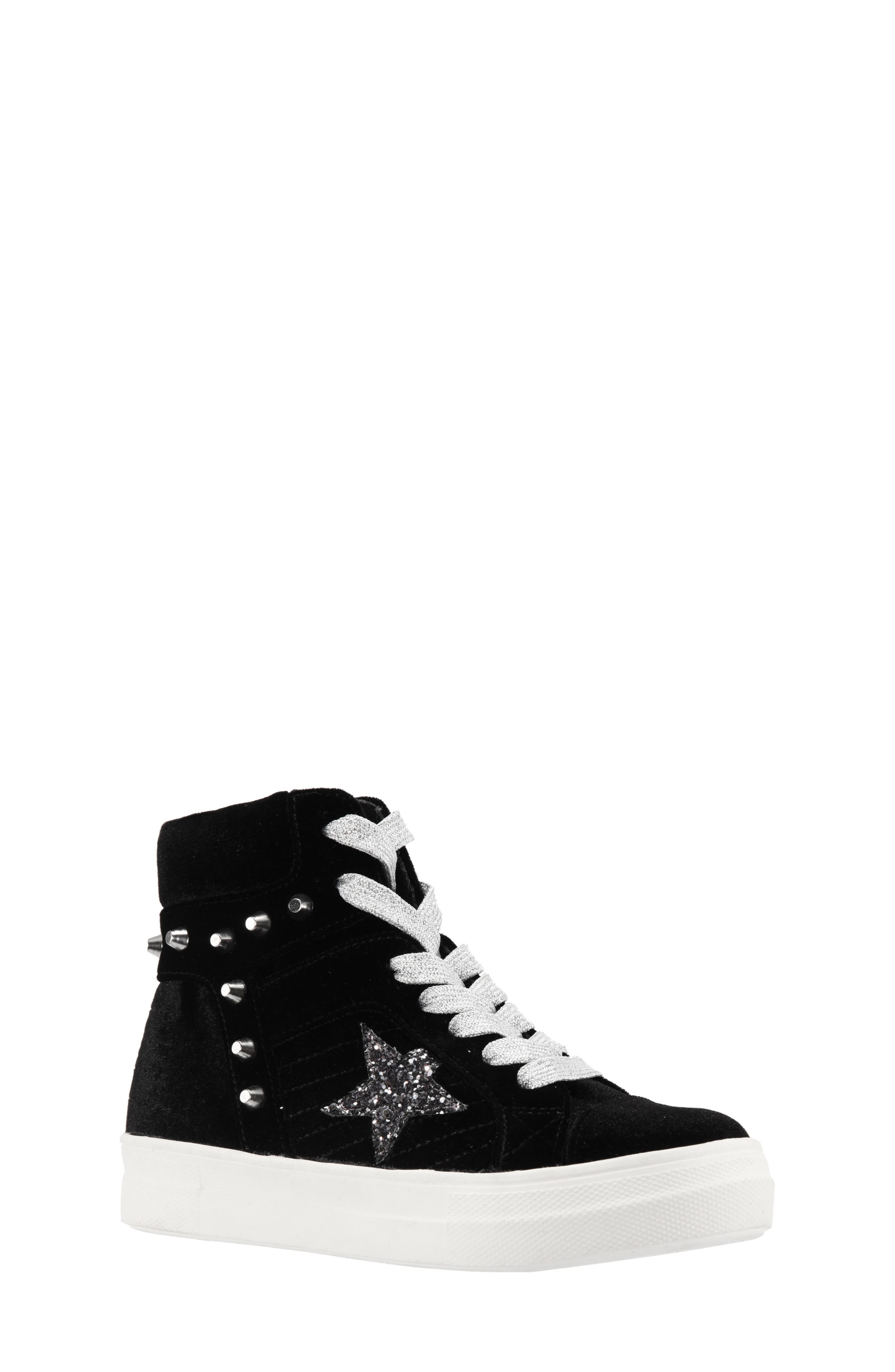 Ima Studded High Top Sneaker,                             Main thumbnail 1, color,                             005