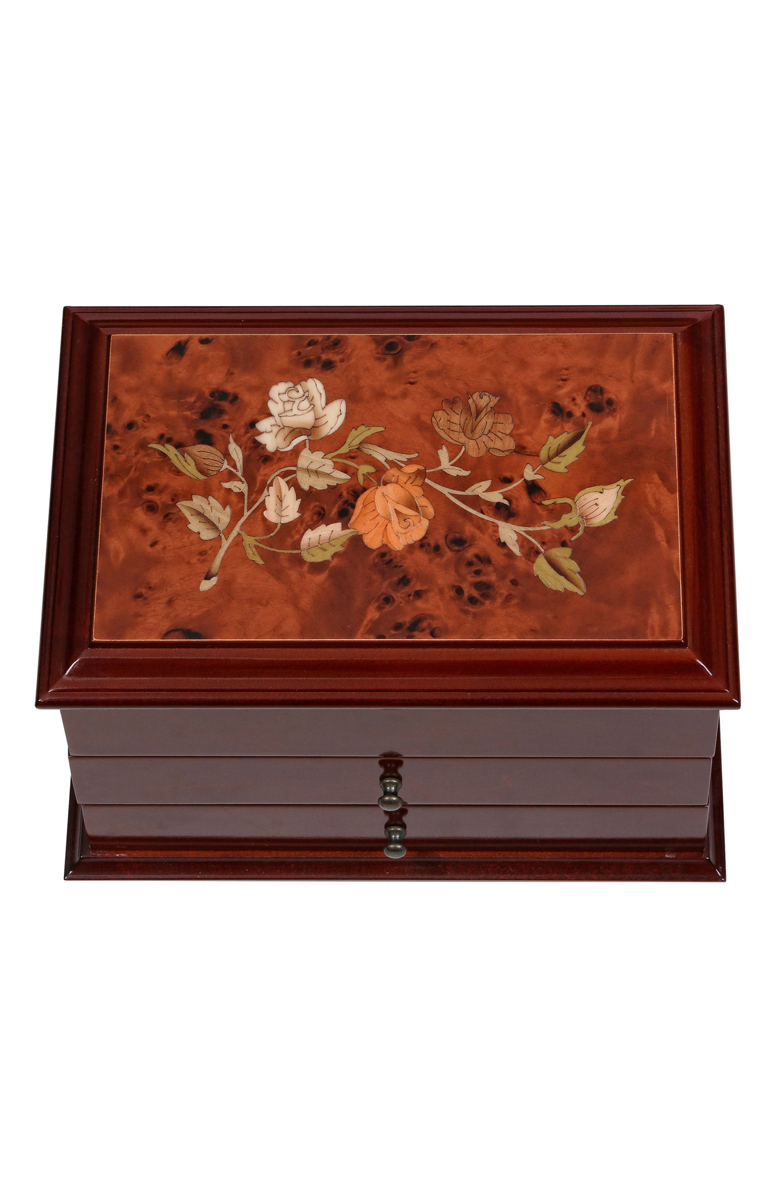 Brayden Wooden Jewelry Box,                             Alternate thumbnail 2, color,                             200