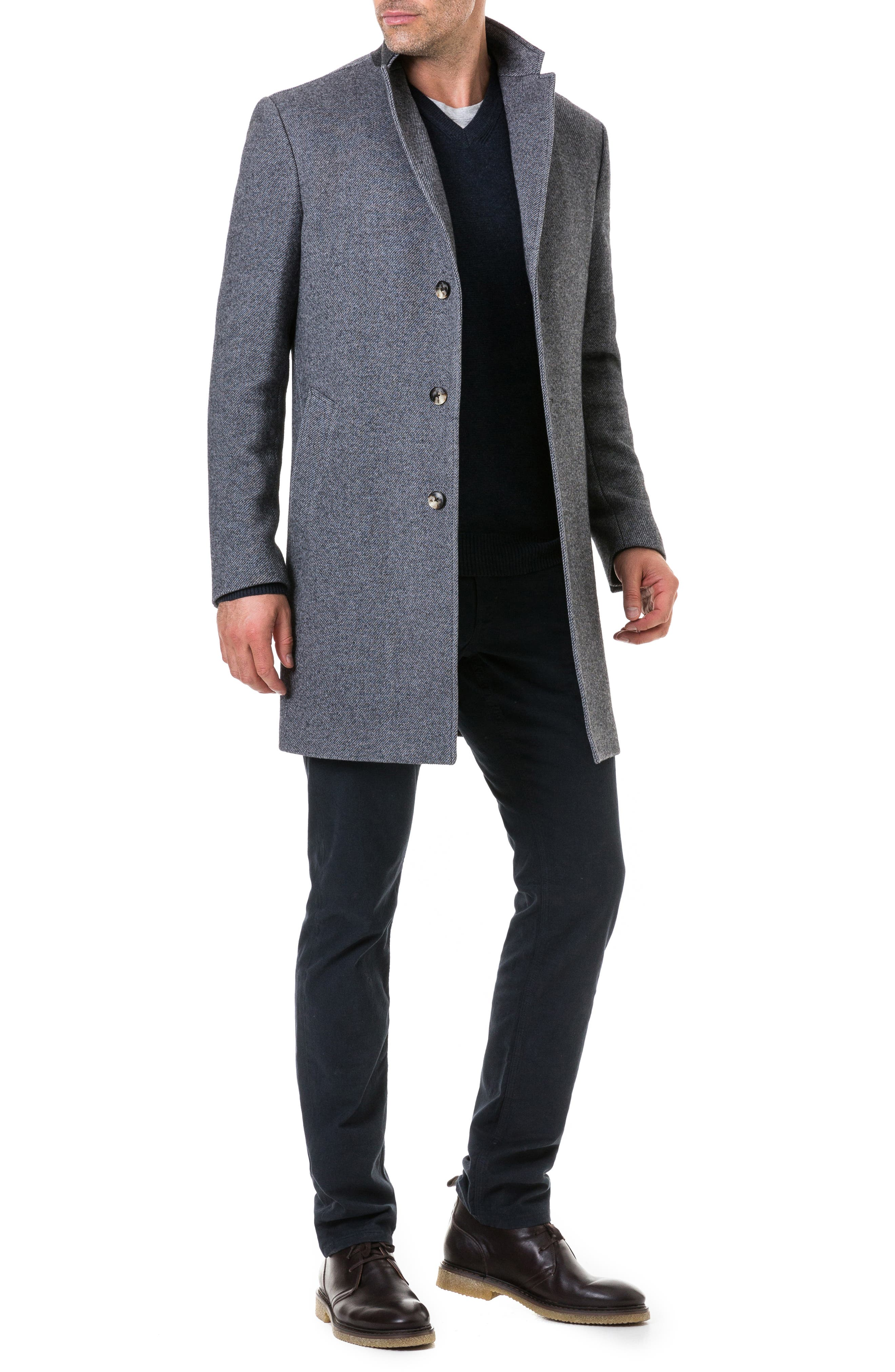 Calton Hill Wool Blend Coat,                             Alternate thumbnail 5, color,                             020