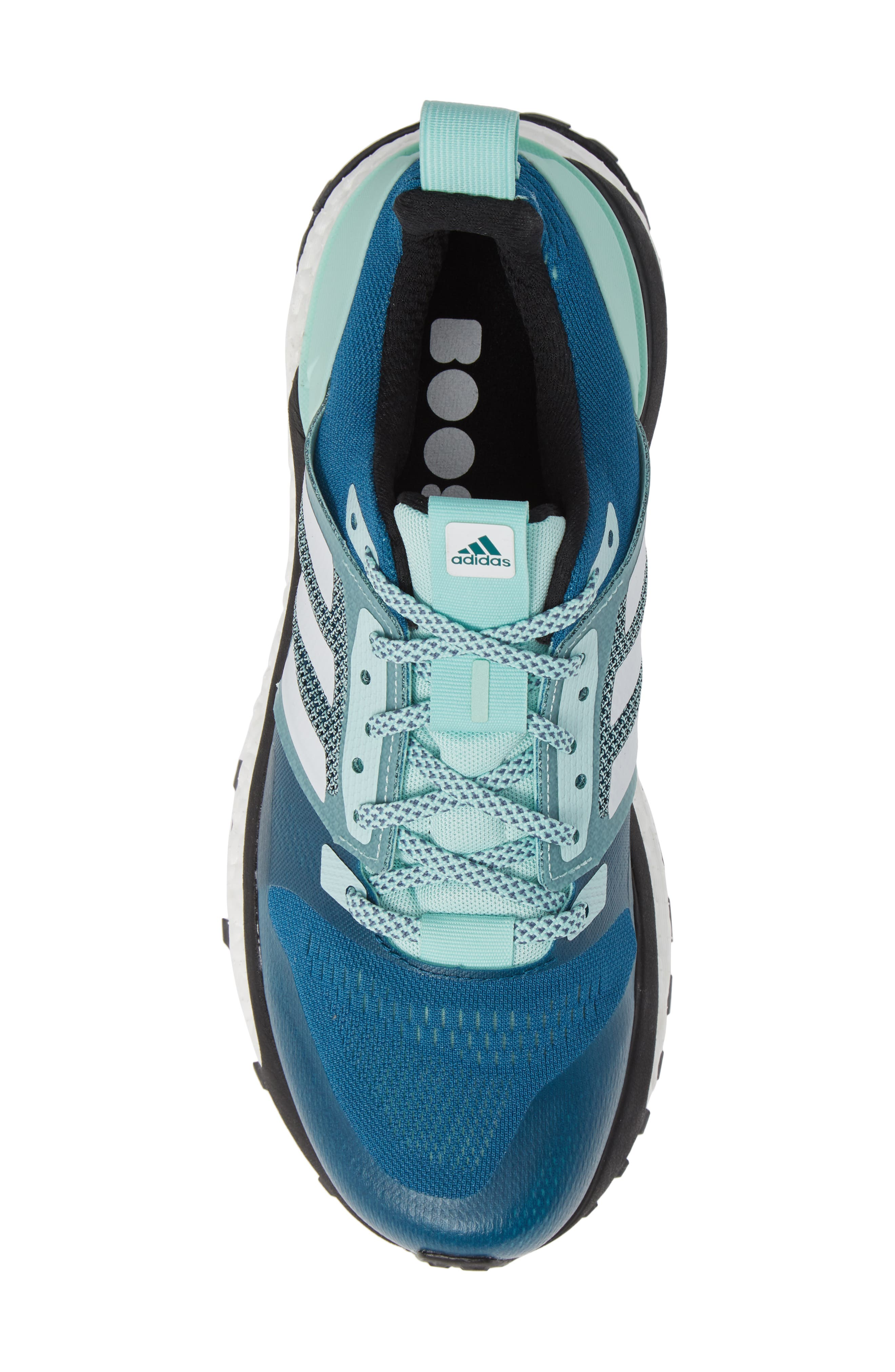 Supernova Trail Running Shoe,                             Alternate thumbnail 5, color,                             REAL TEAL/ WHITE/ CLEAR MINT