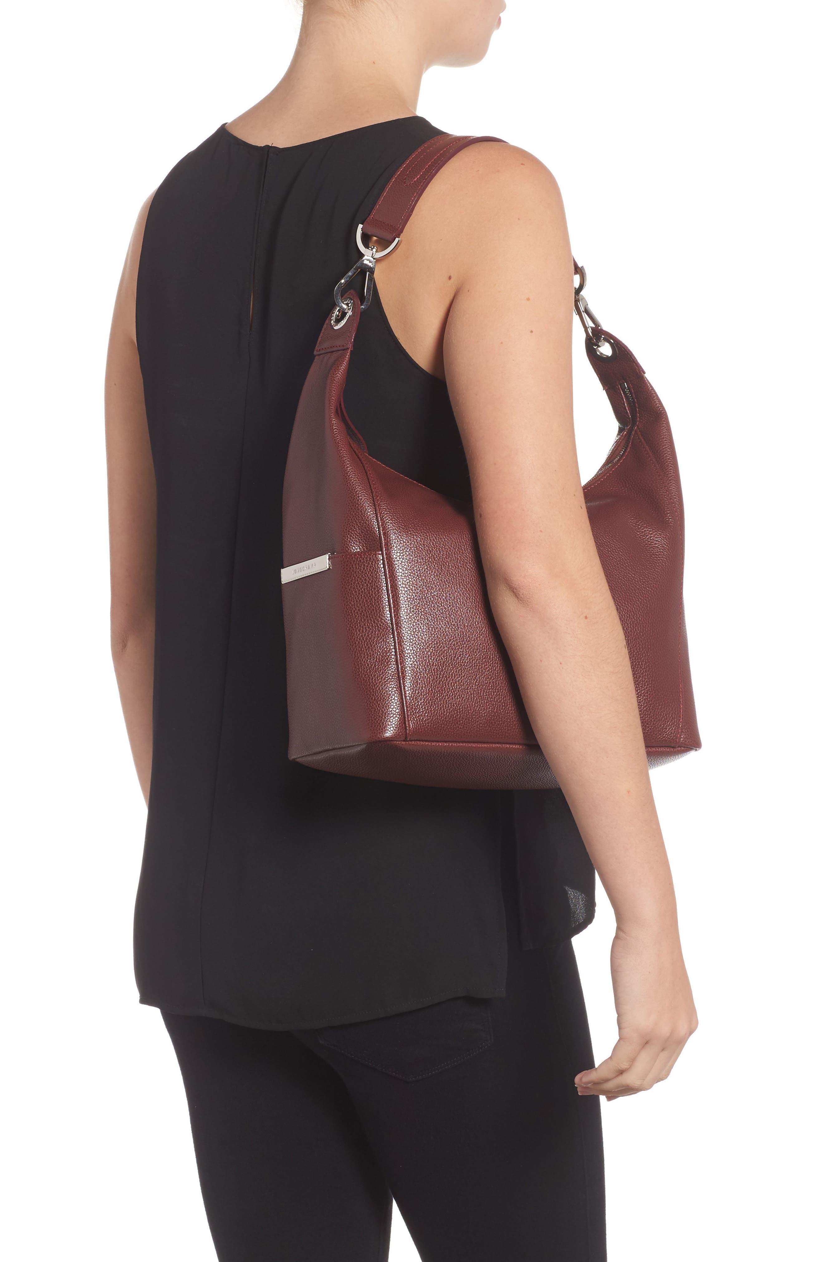'Le Foulonne' Leather Hobo Bag,                             Alternate thumbnail 2, color,                             618