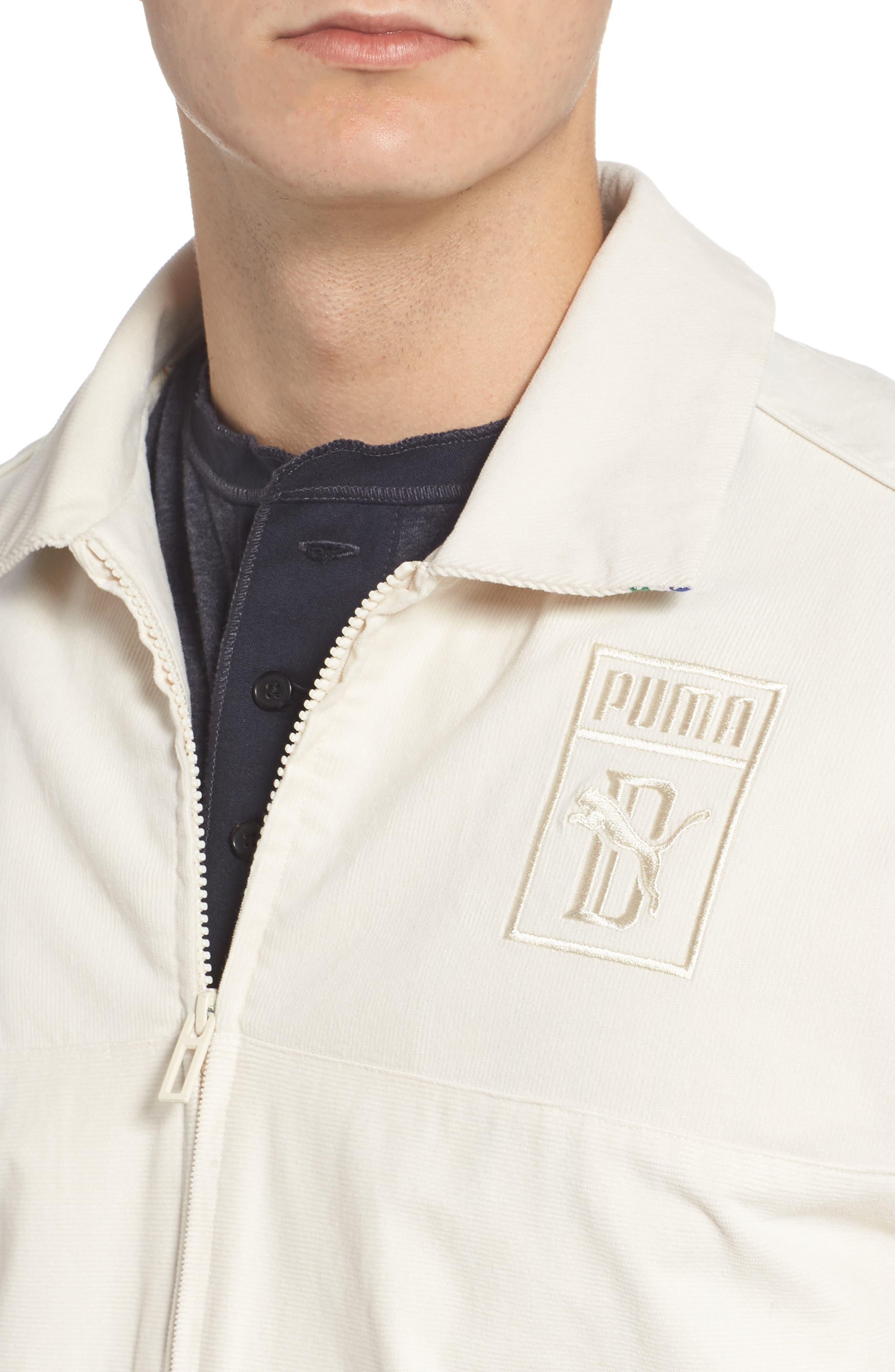 x Big Sean T7 Track Jacket,                             Alternate thumbnail 4, color,                             BIRCH