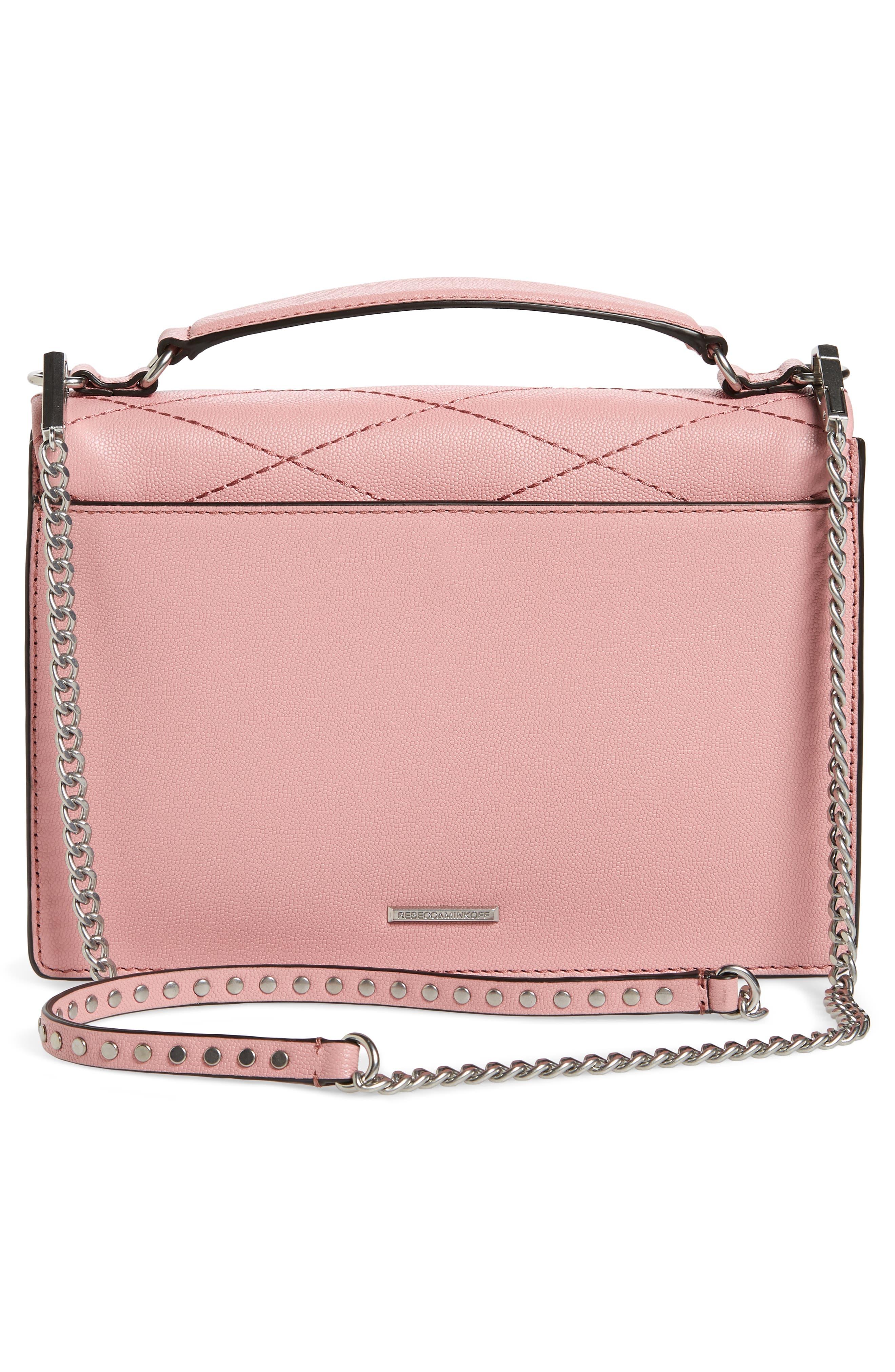 Medium Je T'aime Convertible Leather Crossbody Bag,                             Alternate thumbnail 29, color,
