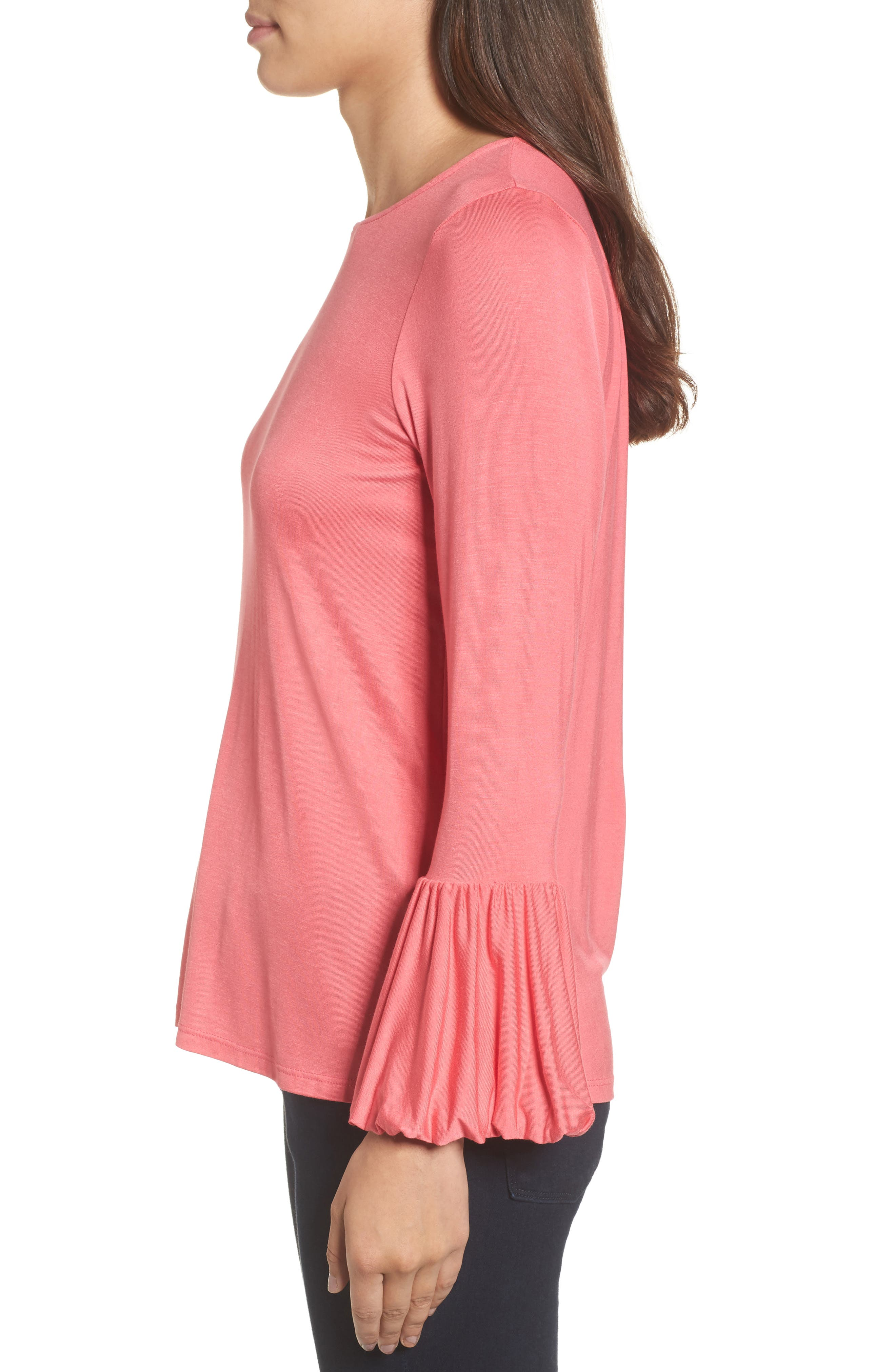 Bell Sleeve Top,                             Alternate thumbnail 15, color,