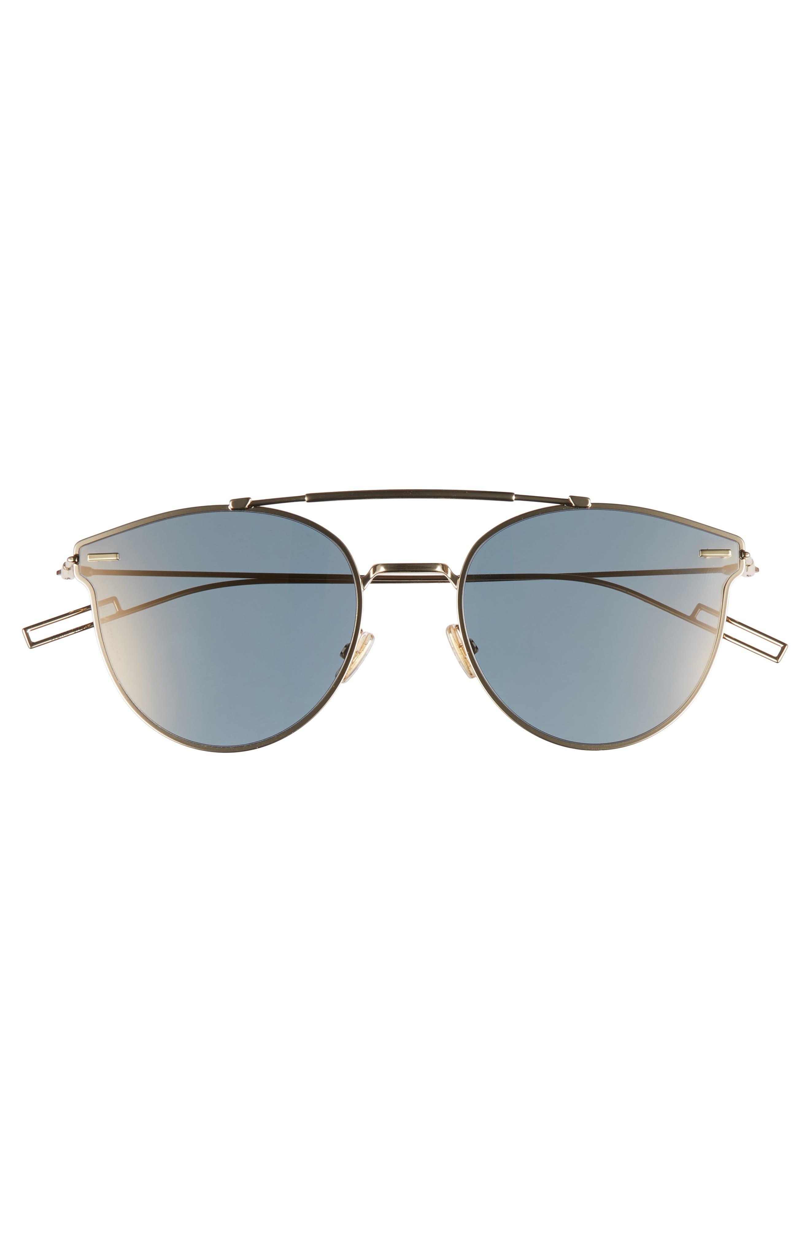 Pressure 57mm Sunglasses,                             Alternate thumbnail 2, color,                             GOLD