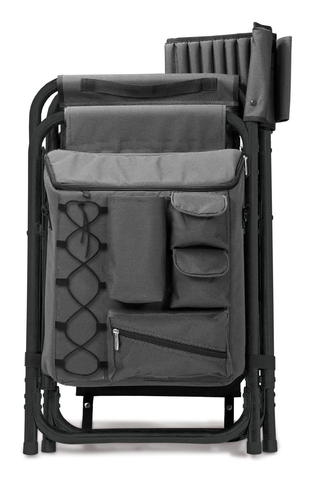 ONIVA Fusion Lawn Chair,                             Alternate thumbnail 4, color,                             BLACK