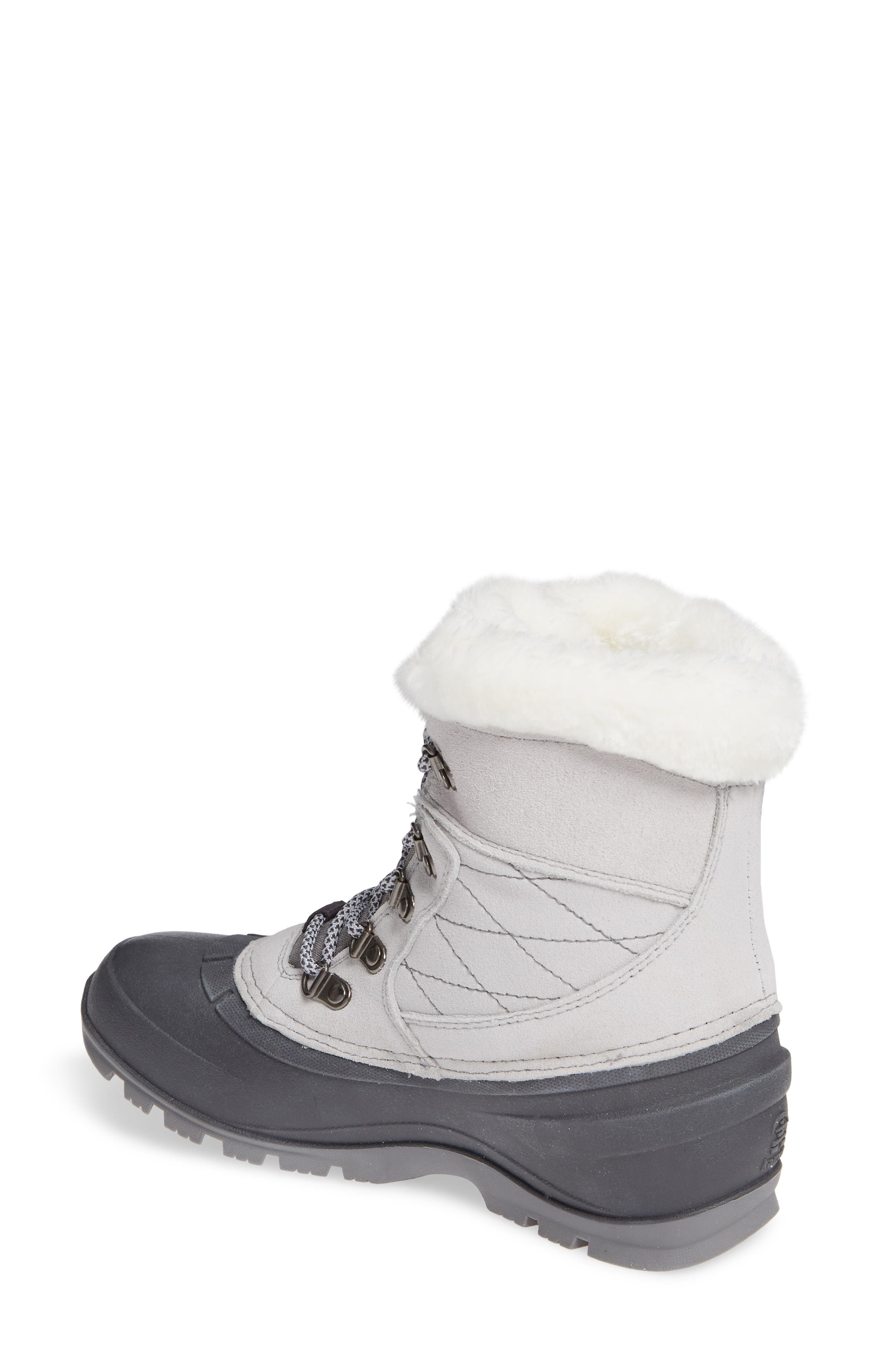 KAMIK,                             Snovalley1 Waterproof Thinsulate<sup>®</sup> Insulated Snow Boot,                             Alternate thumbnail 2, color,                             LIGHT GREY SUEDE